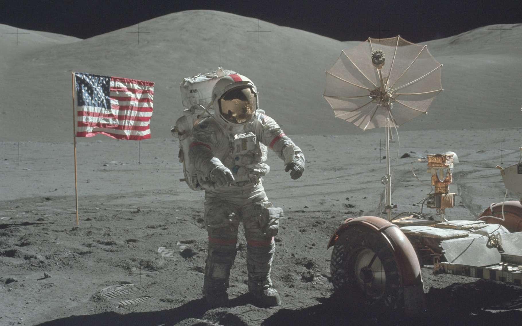 Le programme Apollo a eu de nombreuses retombées, dans des domaines aussi variés que la science et les technologies, mais aussi l'économie ou la géopolitique. © Project Apollo Archive, Flickr, Domaine public