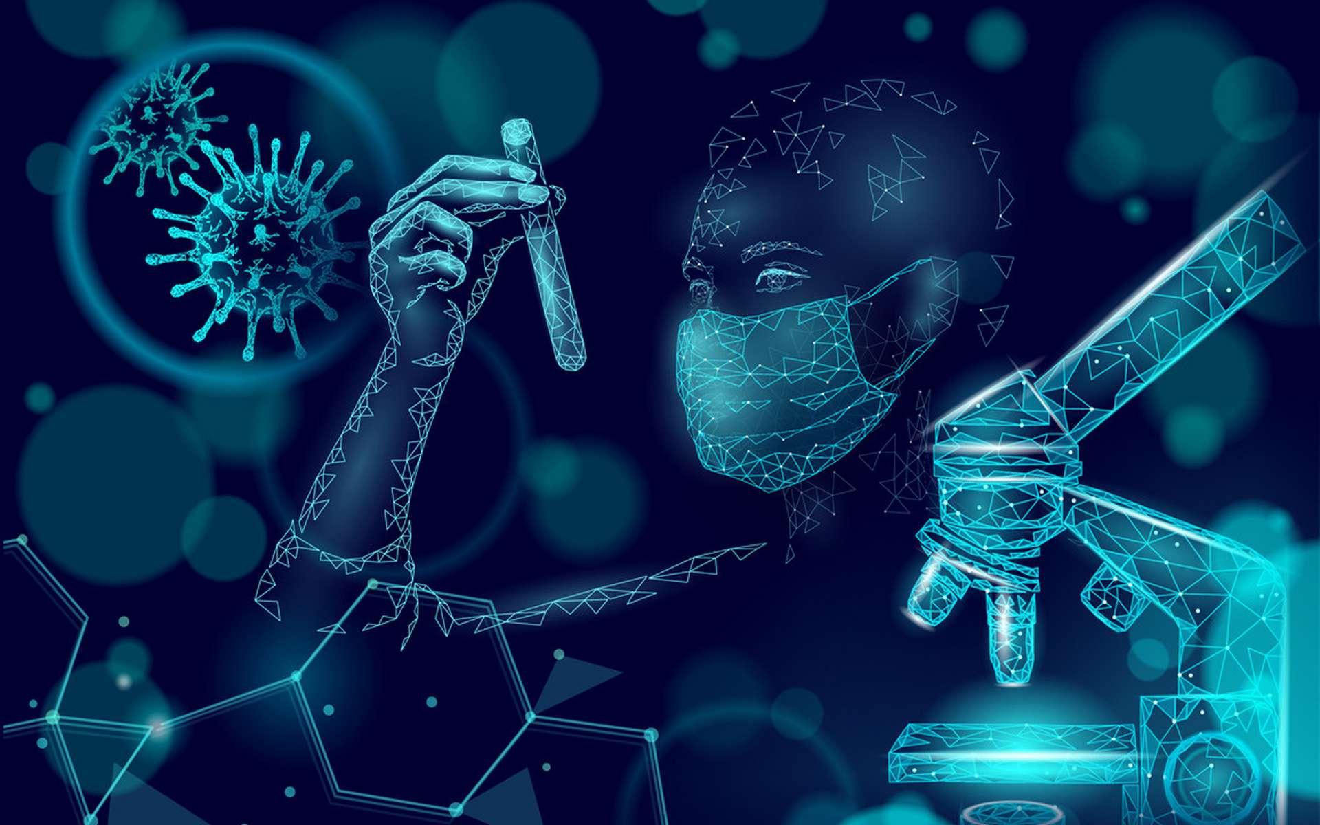 Grâce à la sonification, il est possible d'entendre la mélodie cachée du génome du coronavirus. © A, Adobe Stock