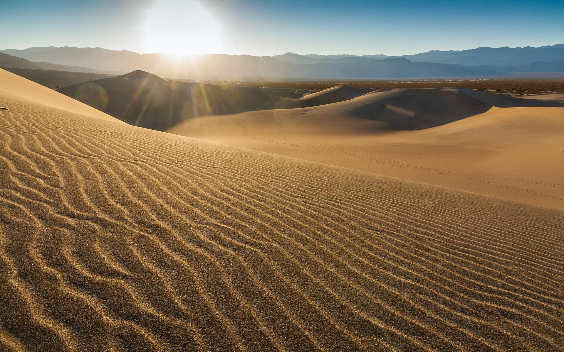 Le sable est un matériau granulaire que l'on trouve en quantité sur Terre. © Felix's Endless Journey, Flickr, CC by-NC-ND 2.0