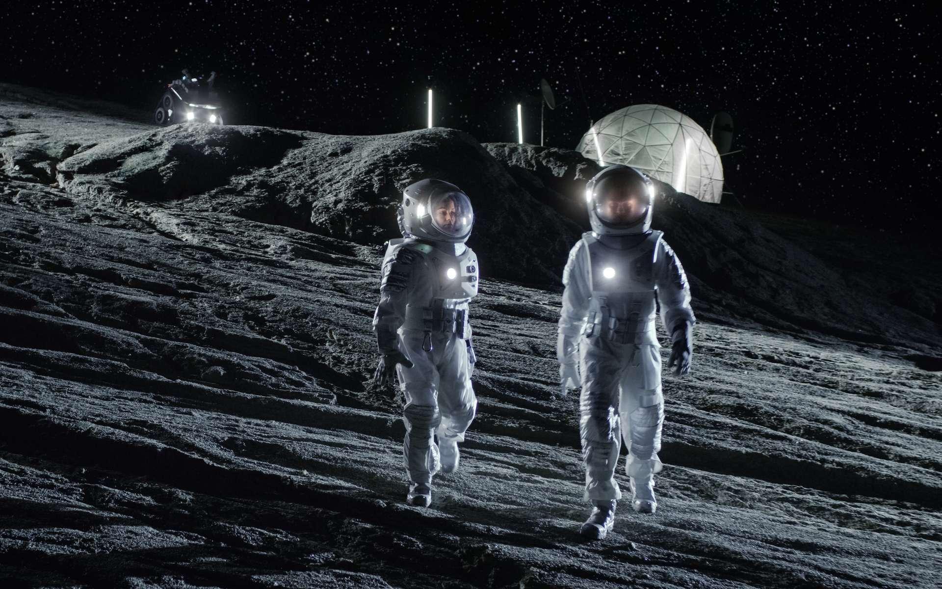 Marcher sur la Lune : la Nasa tend la main à l'Europe et au Japon