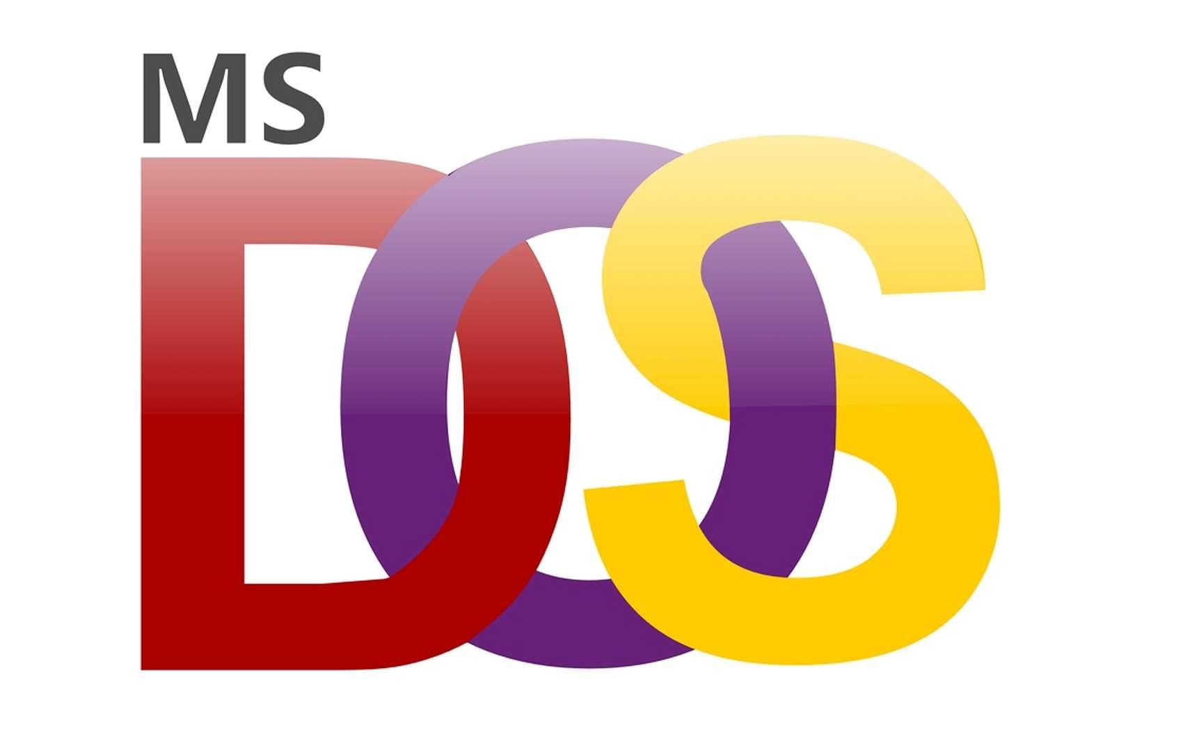Le MS-DOS fut le système d'exploitation le plus répandu des 20 premières années de l'informatique grand public. © Openlcons, Pixabay
