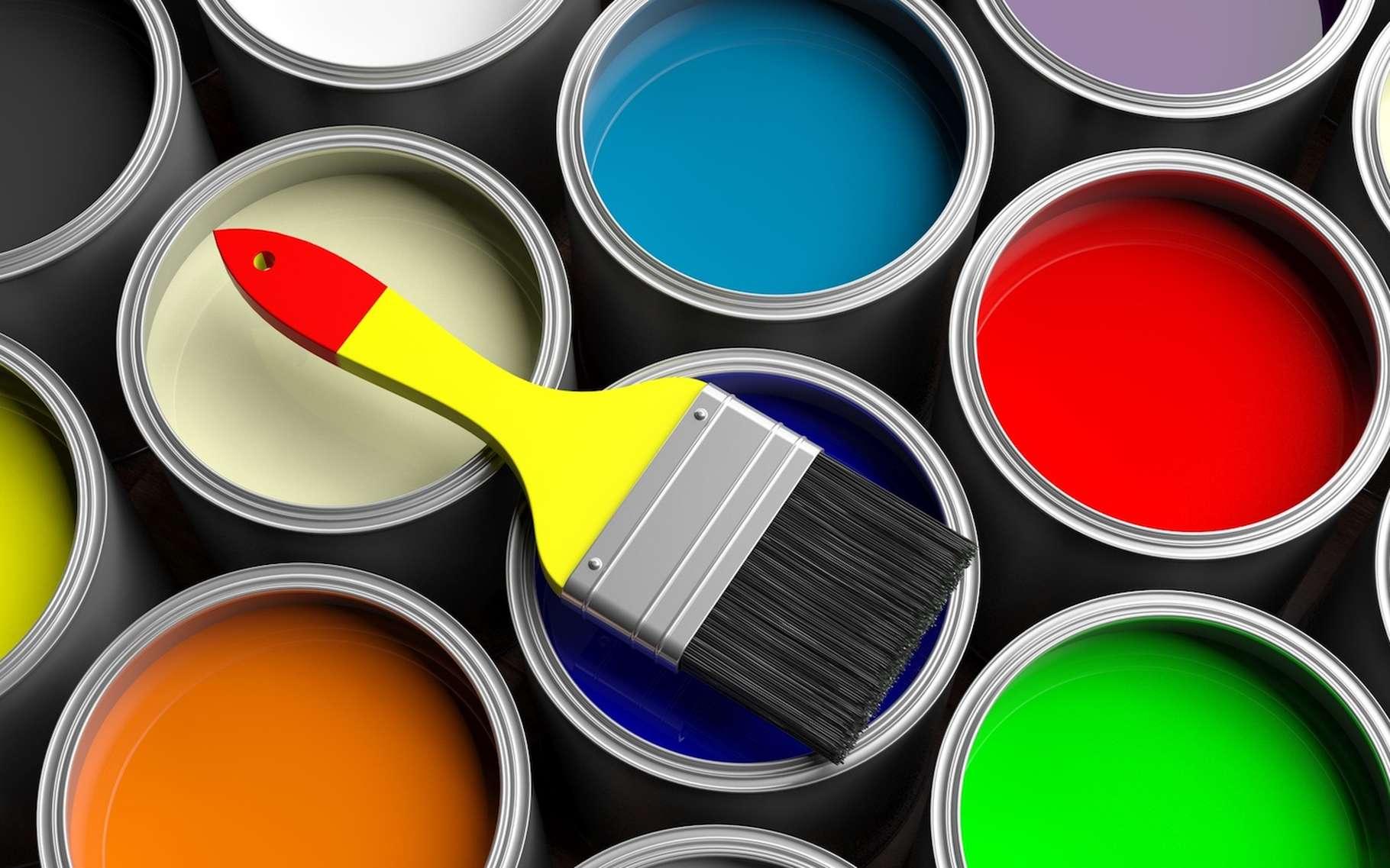 Les hydrocarbures aromatiques servent, entre autres, à la formulation de solvants de peintures. © Rawf8, Fotolia