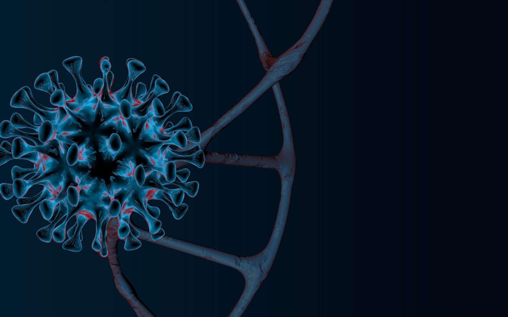 Le variant anglais du SARS-CoV-2 possède une nouvelle mutation. © maestrovideo, Adobe Stock