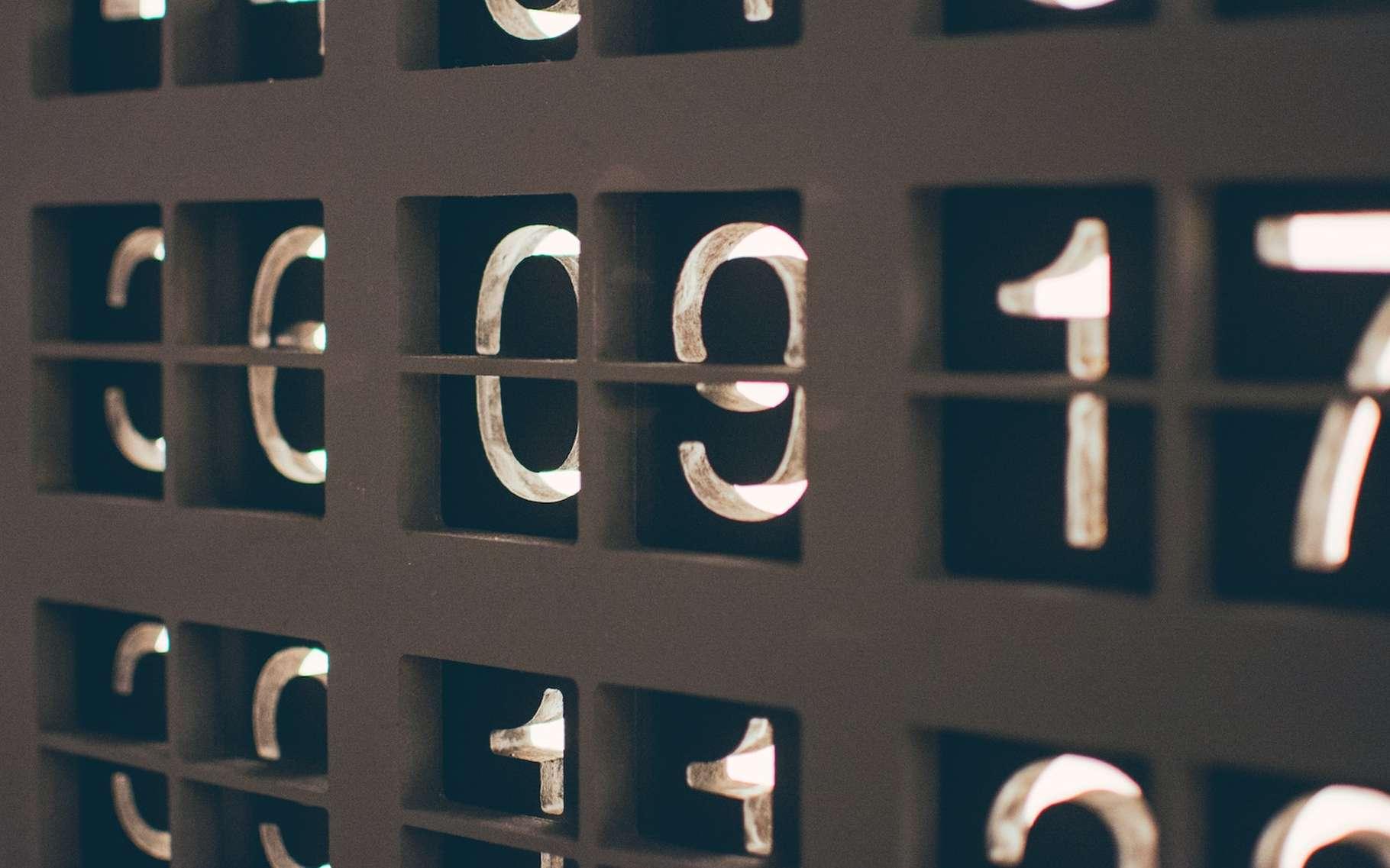 Notion fondamentale des mathématiques, les nombres sont partout autour de nous. © Nick Hillier, Unsplash