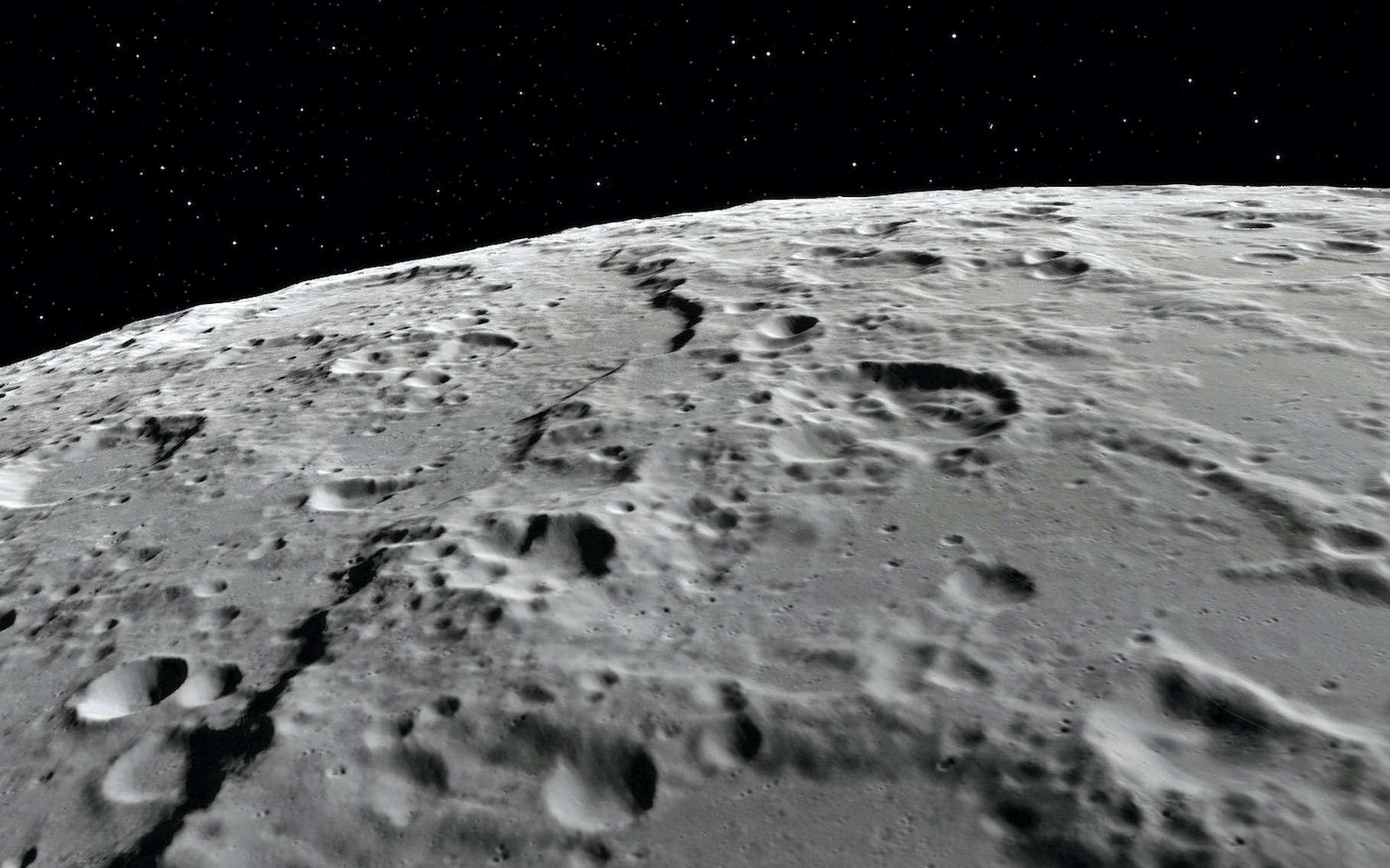 En avril 1970, les astronautes d'Apollo 13 ont survolé la face cachée de la Lune. La Nasa vous offre aujourd'hui la possibilité de suivre leurs traces. © rudut2015, Adobe Stock