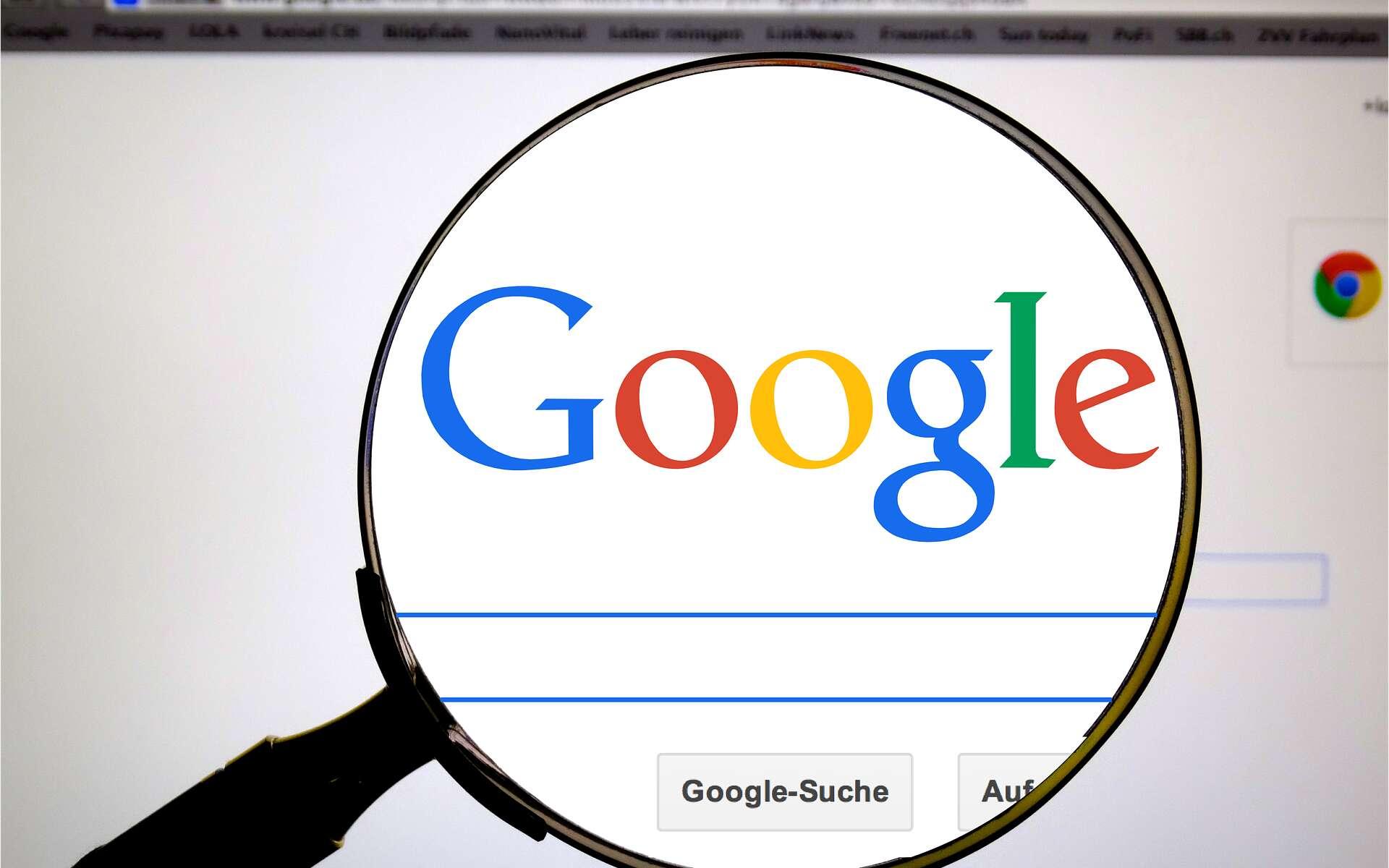 Google, bien plus qu'un simple moteur de recherche. © Pixabay