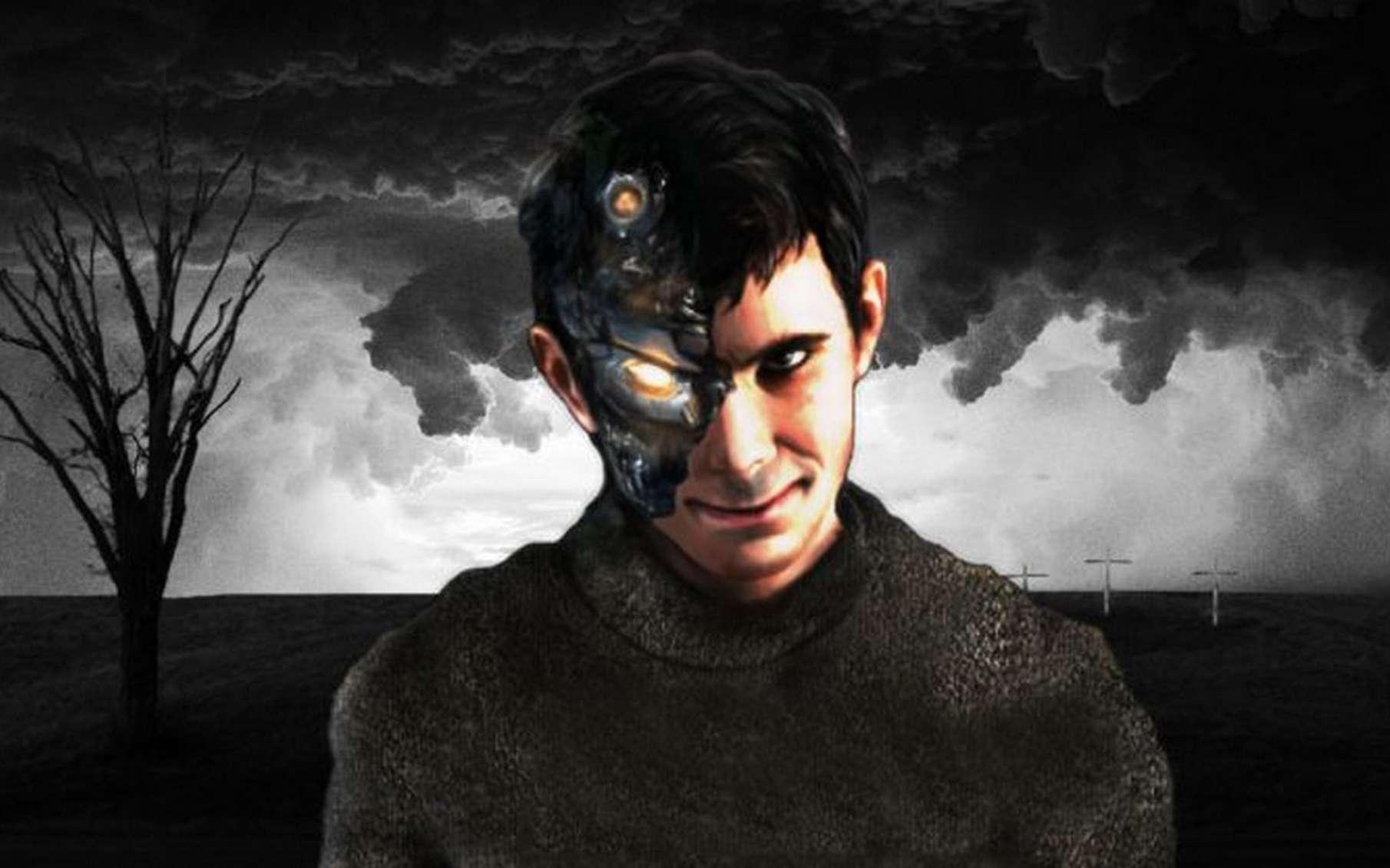 Le MIT a baptisé son « IA psycopathe » Norman en référence au personnage Norman Bates d'Alfred Hitchcock. © Scalable Cooperation