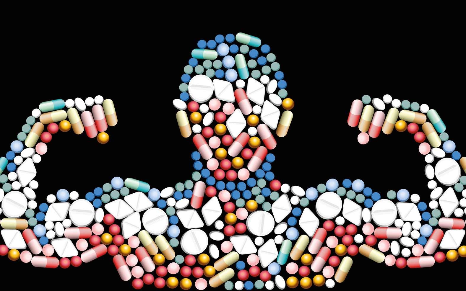 Prendre des médicaments pour être plus performant : c'est du dopage. © Peter Hermes Furian, Fotolia