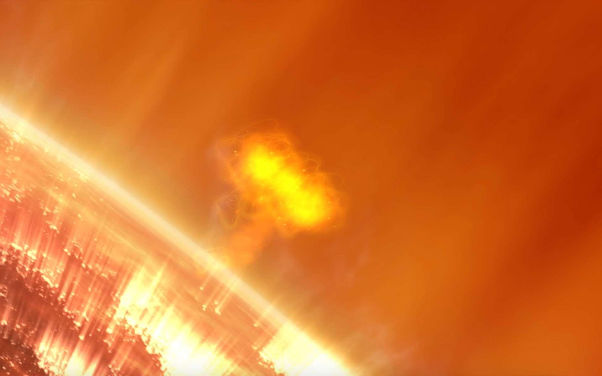 Les six cubesats de la mission SunRise étudieront les tempêtes de rayonnements solaires. © Nasa