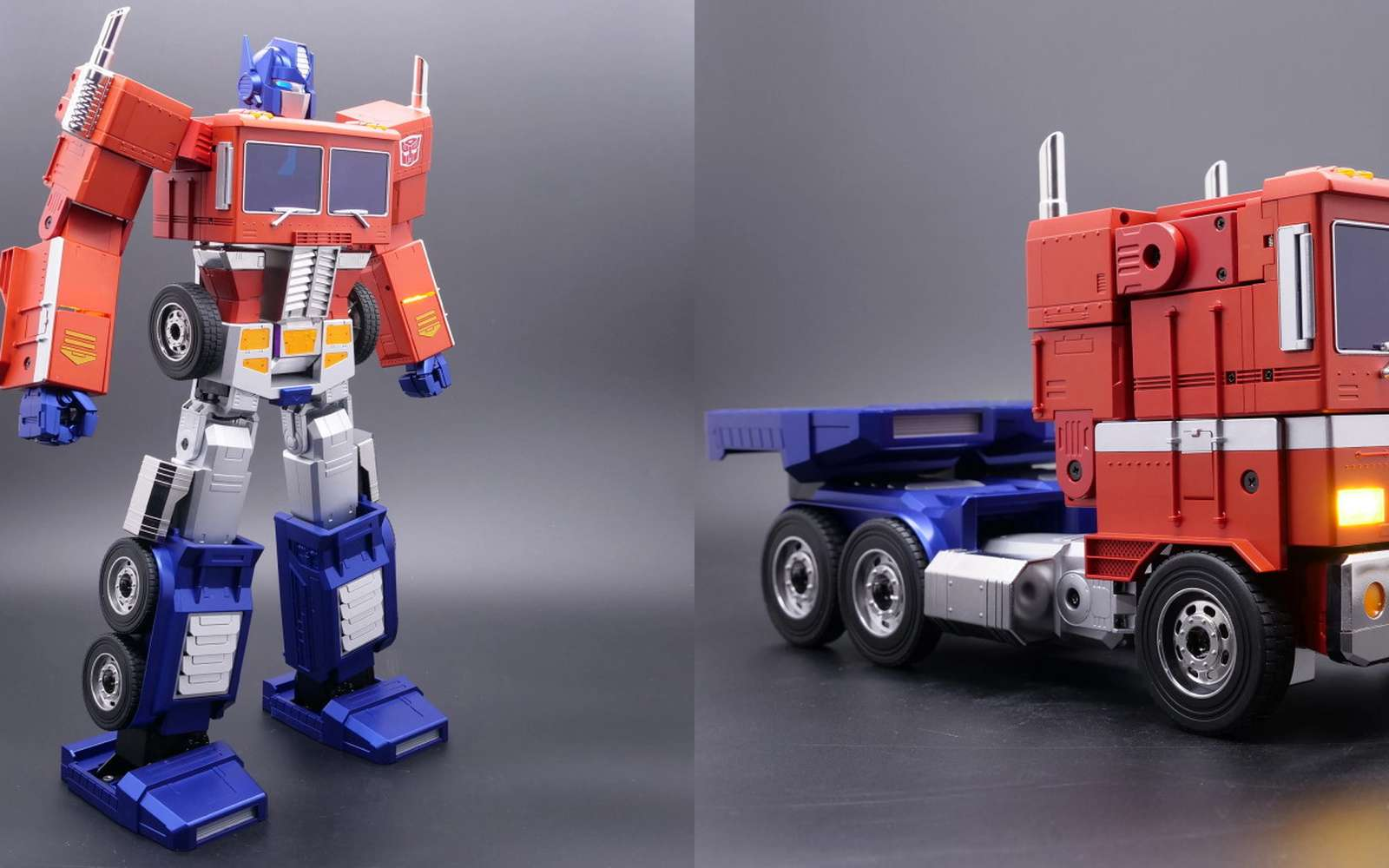 Composé de 5.000 pièces, le robot Transformers devient réalité