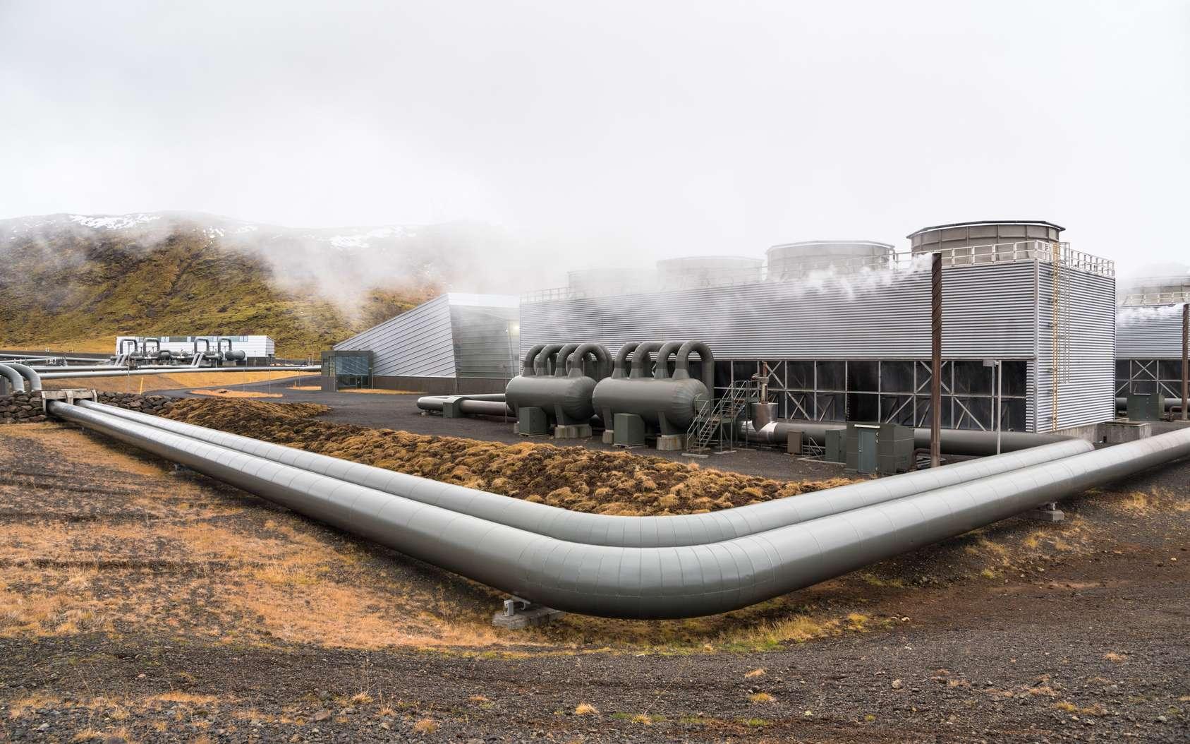 L'activité géothermique de notre planète peut être exploitée afin de produire chauffage, eau chaude sanitaire ou encore électricité. © Alpegor, Fotolia