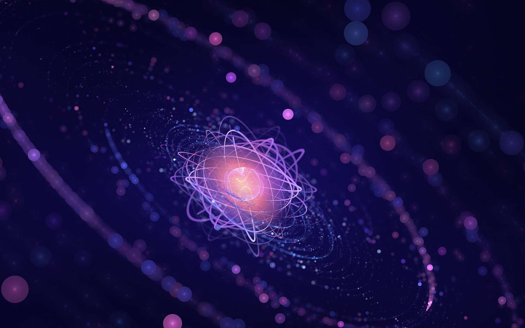 Certains ions échapperaient-ils aux lois de la thermodynamique ? Ici, la représentation d'un atome. © Lana Po, Shutterstock