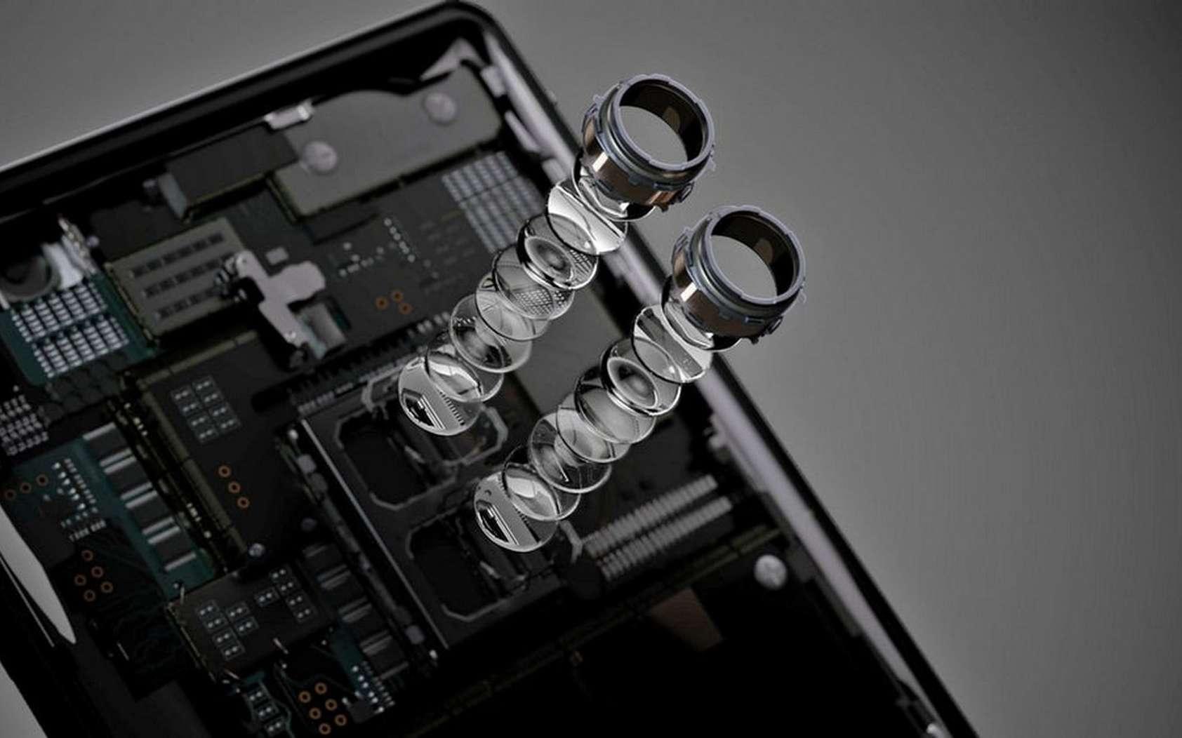 Le nouveau capteur photo Sony devrait d'abord être intégré dans les smartphones de la marque nippone. © Sony