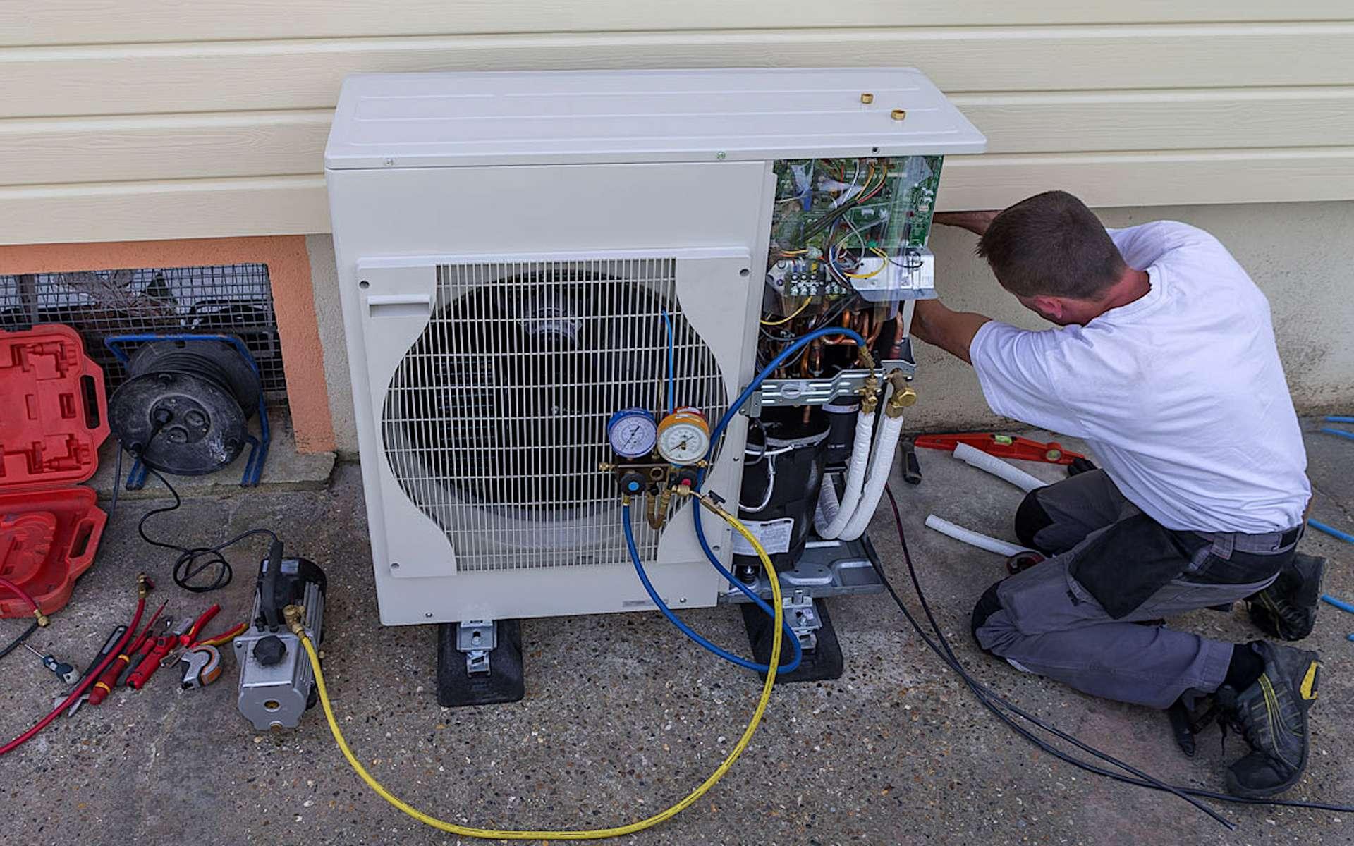 De nombreux paramètres sont à prendre en compte, avant et pendant l'installation d'une pompe à chaleur. © Pac Avenue