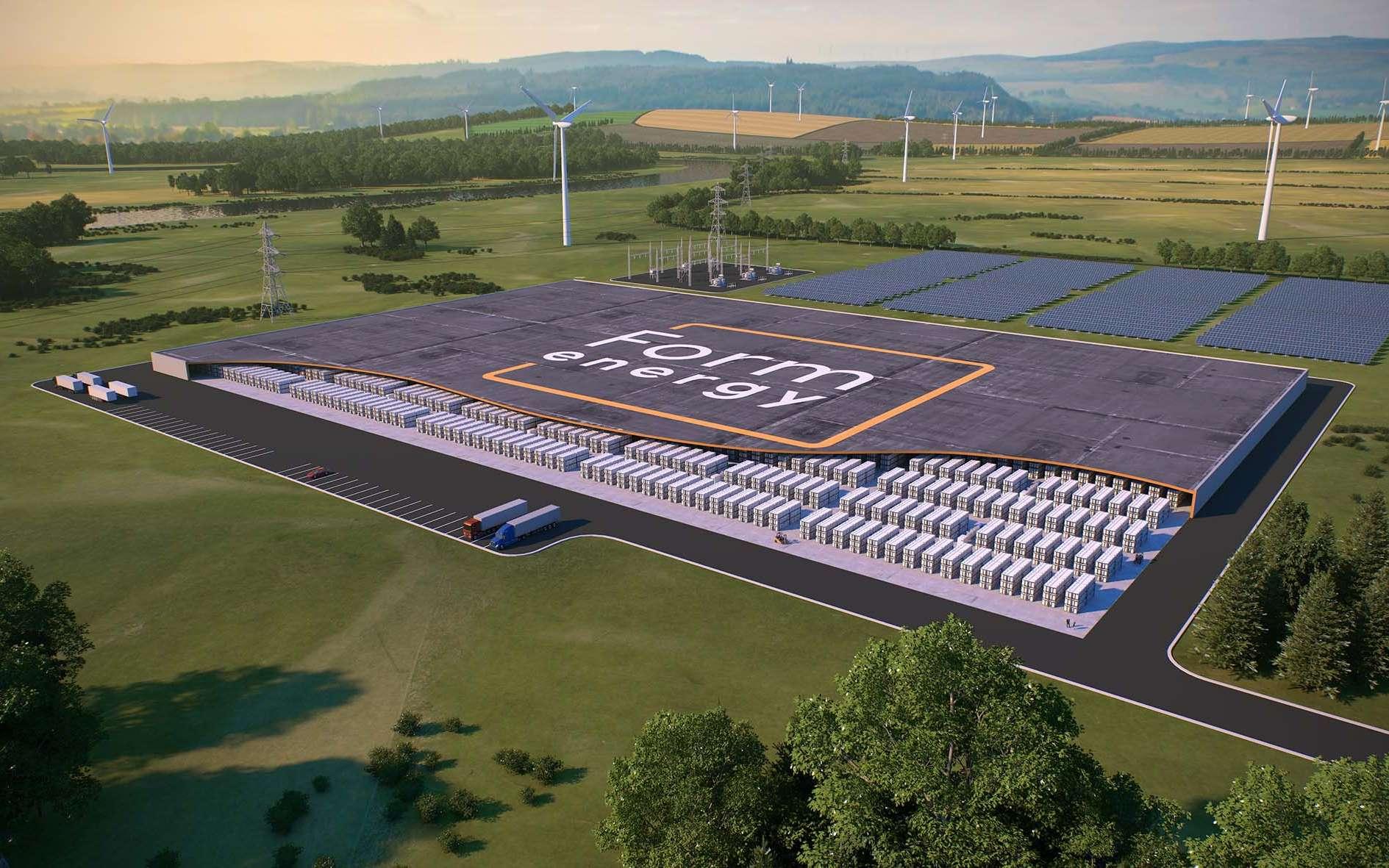 Une nouvelle batterie fer-air pourrait diviser les coûts de production par 10. © Form Energy