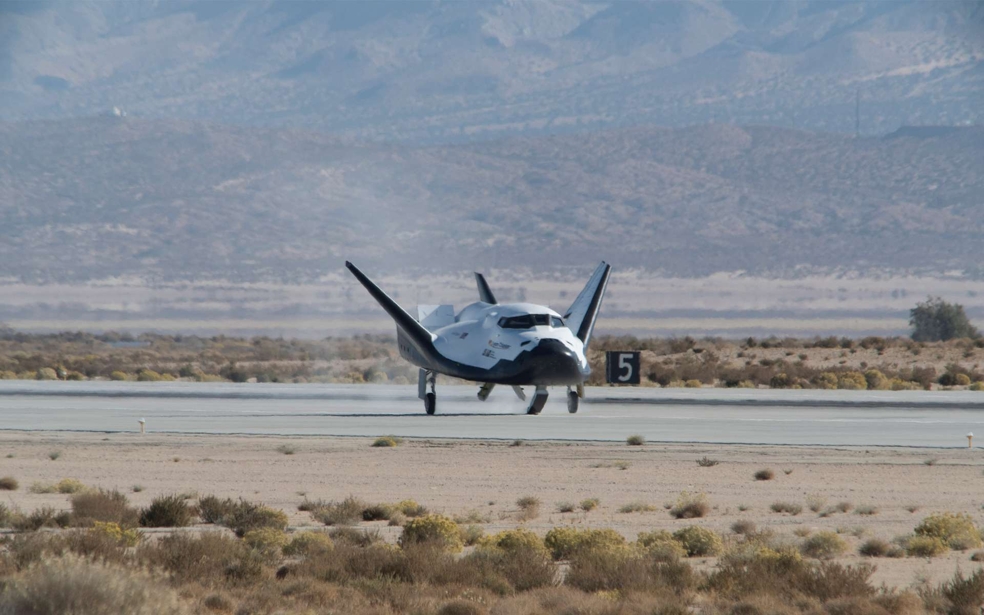 L'avion spatial Dream Chaser est de retour en vol. © Nasa