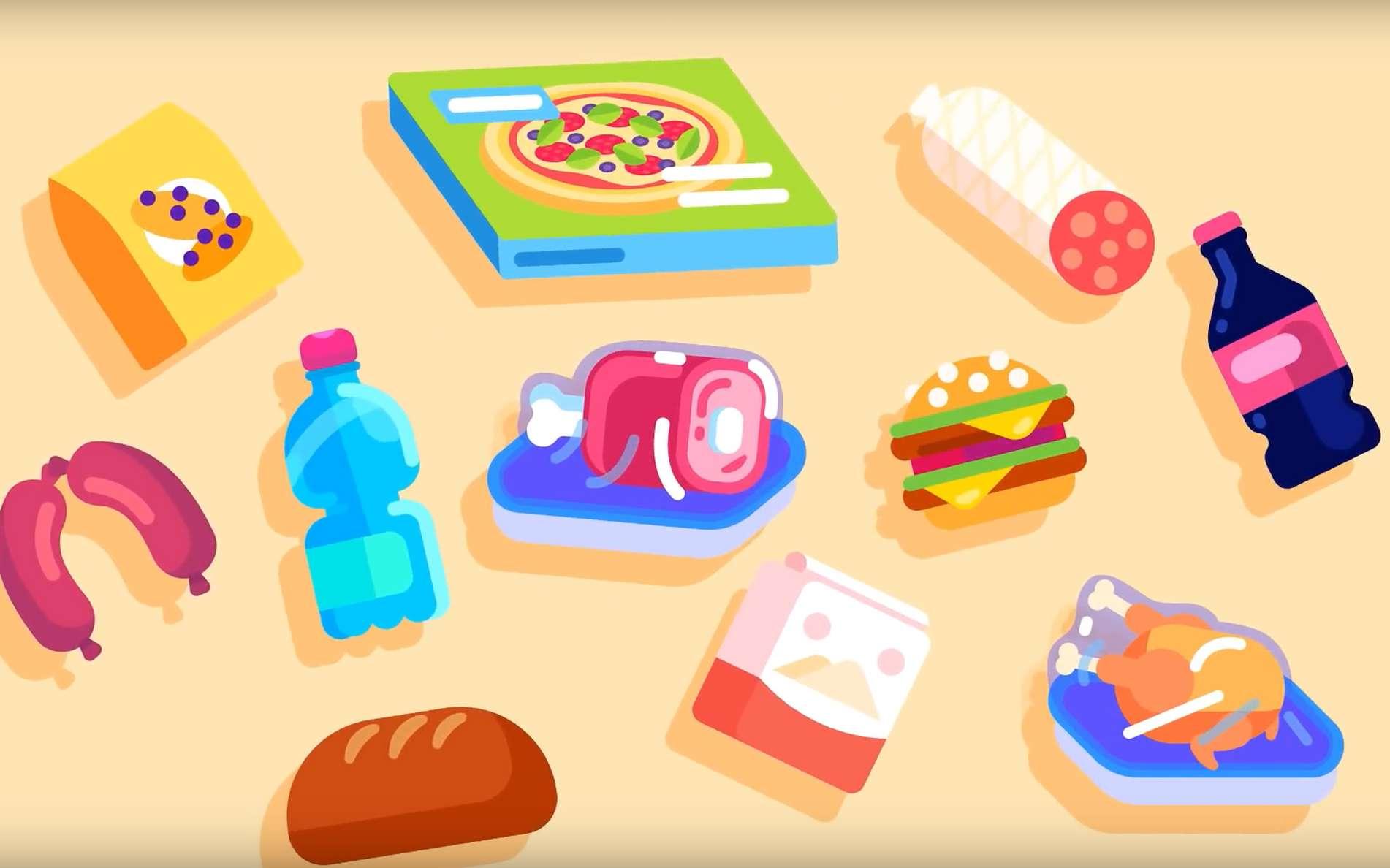 De nouvelles techniques permettent de prolonger la durée de vie des aliments et ainsi d'en limiter le gaspillage. © Kurzgesagt, In a Nutshell, YouTube