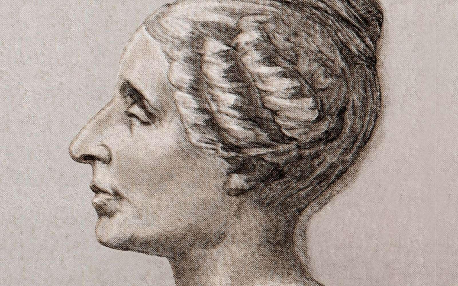 Le portrait de Sophie Germain. © Domaine public