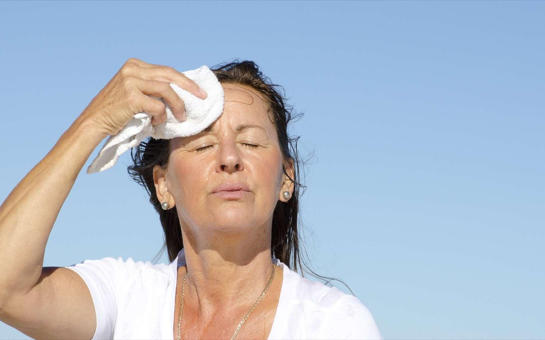 Les bouffées de chaleur de la ménopause auraient des causes génétiques. © Rob Bayer, Shutterstock