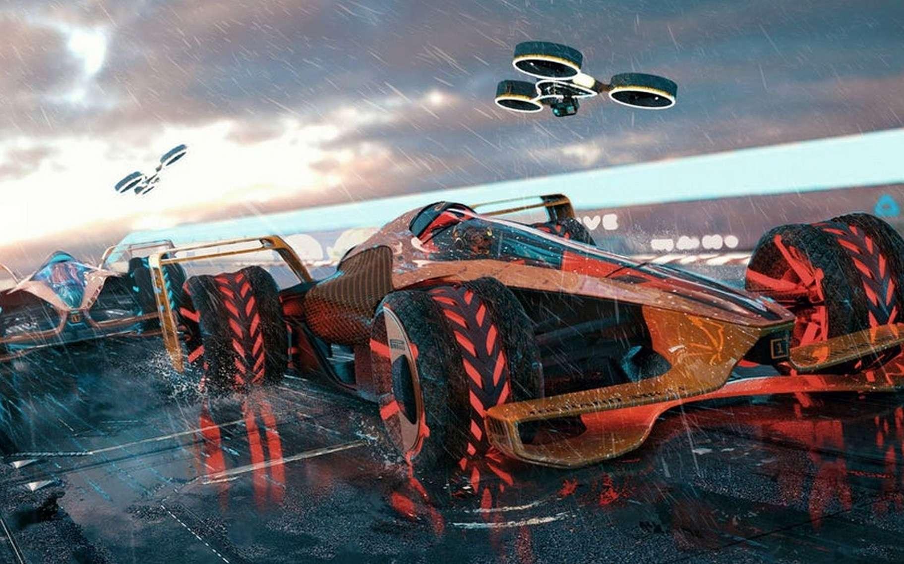 McLaren imagine une F1 en 2050. © McLaren Applied Technologie