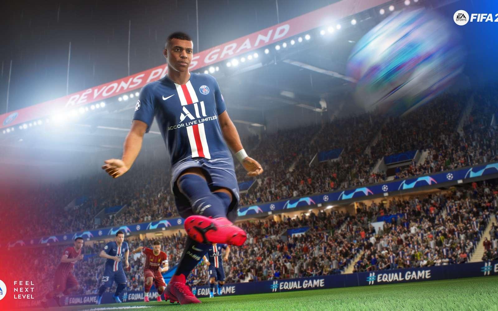 Le moteur du jeu de FIFA 2021 se retrouve entre les mains de pirates. © Electronic Arts