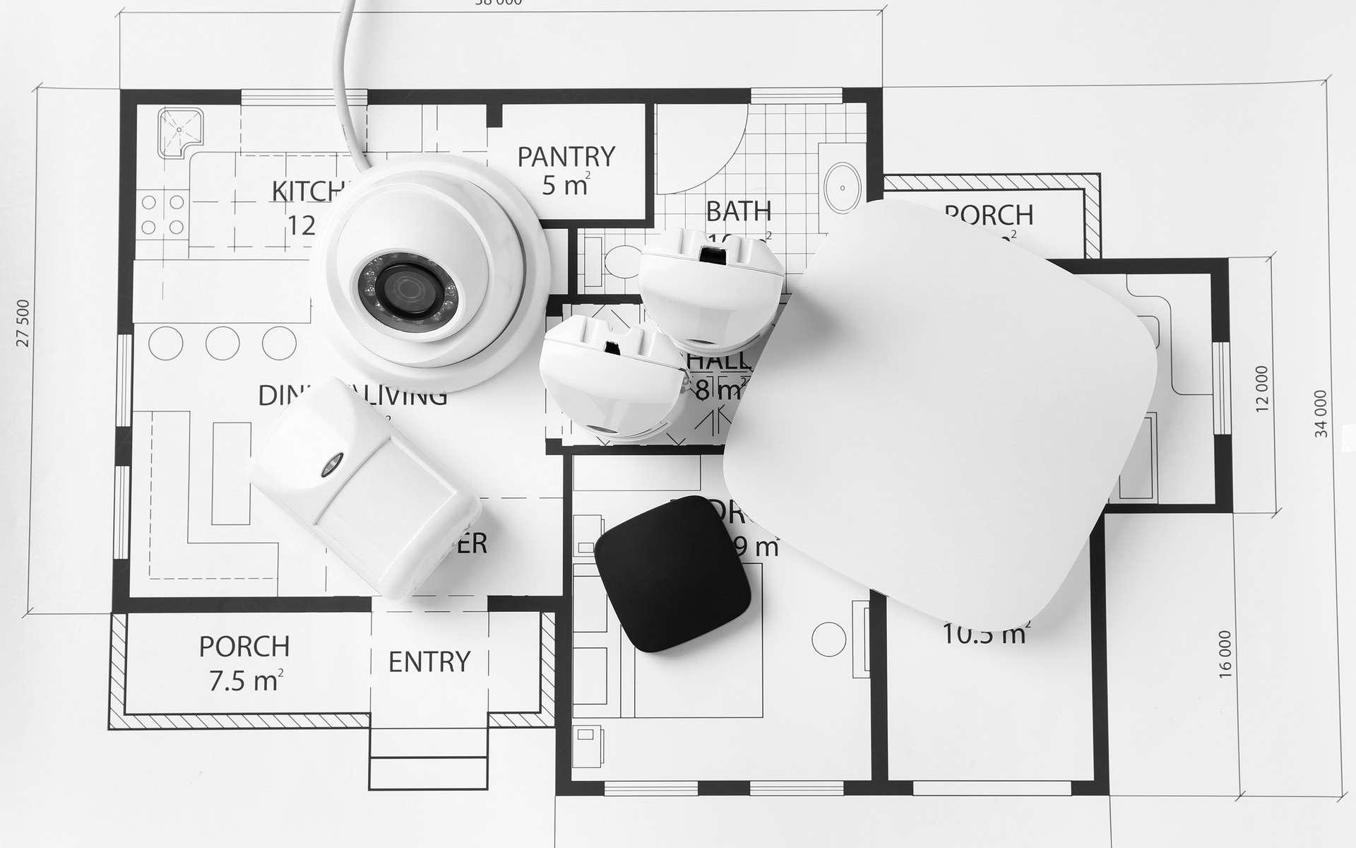 Alarme de maison sans abonnement © Pixel-Shot, AdobeStock