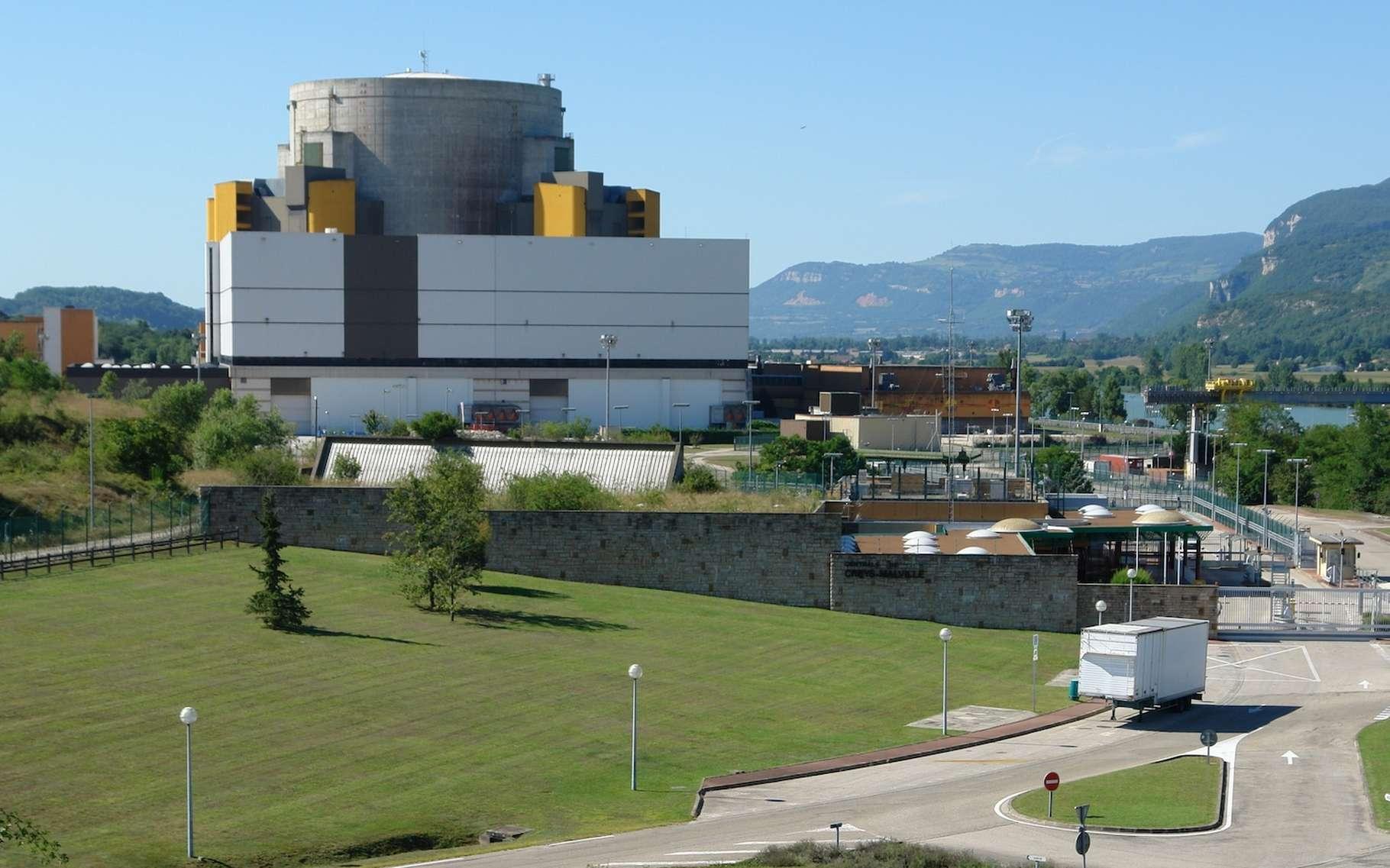 Les équipes d'EDF travaillent depuis plusieurs années au démantèlement du réacteur Superphénix. © I, Yann, Wikipedia, CC by-sa 3.0