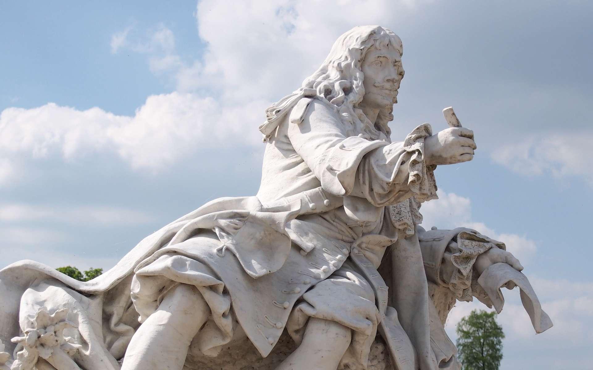 Statue de Molière au château de Chantilly. © vmonet, fotolia
