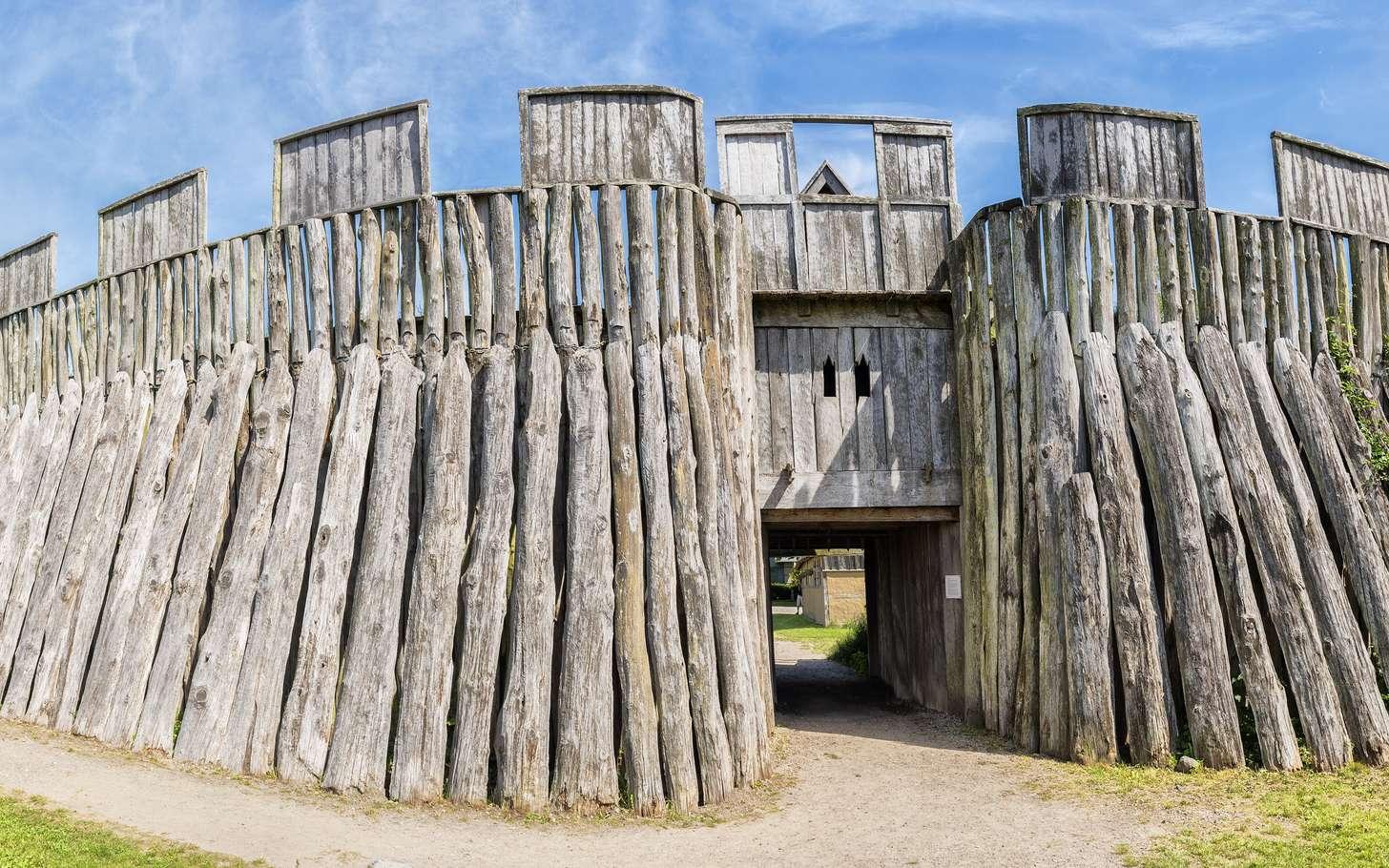 Le fort viking de Trelleborg. © Antony McAulay, fotolia