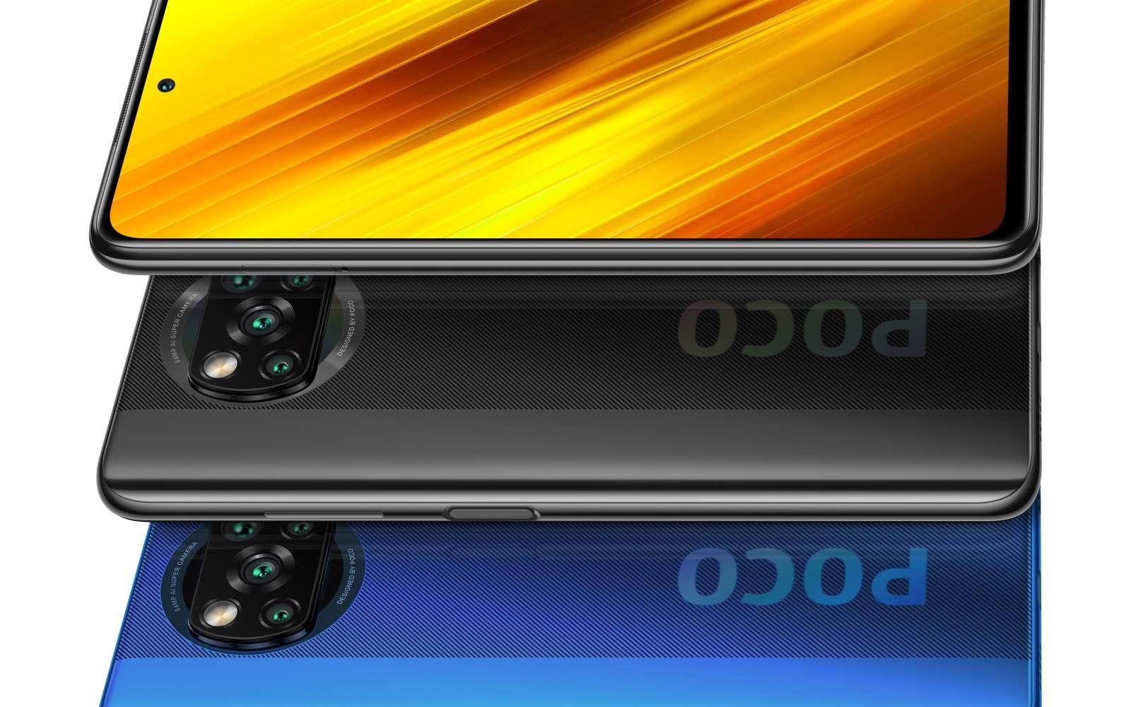 Le nouveau Poco X3 NFC de Xiaomi, avec écran 120 Hz et batterie grande capacité. © Xiaomi