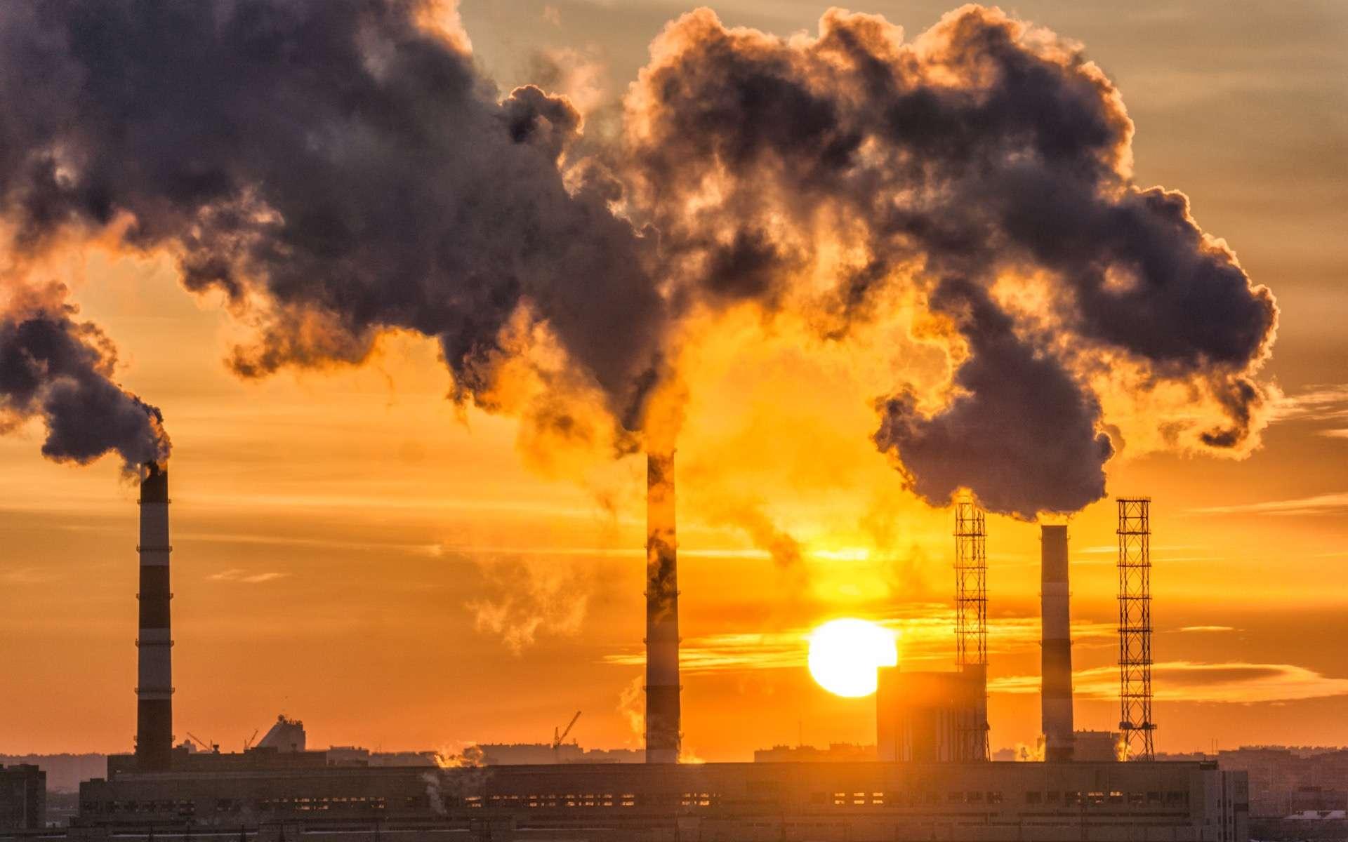 Tant qu'ils restent dans l'atmosphère, les gaz à effet de serre continuent à réchauffer la planète, de nombreuses années, voire des siècles après avoir été émis. © Алексей Филатов, Adobe Stock