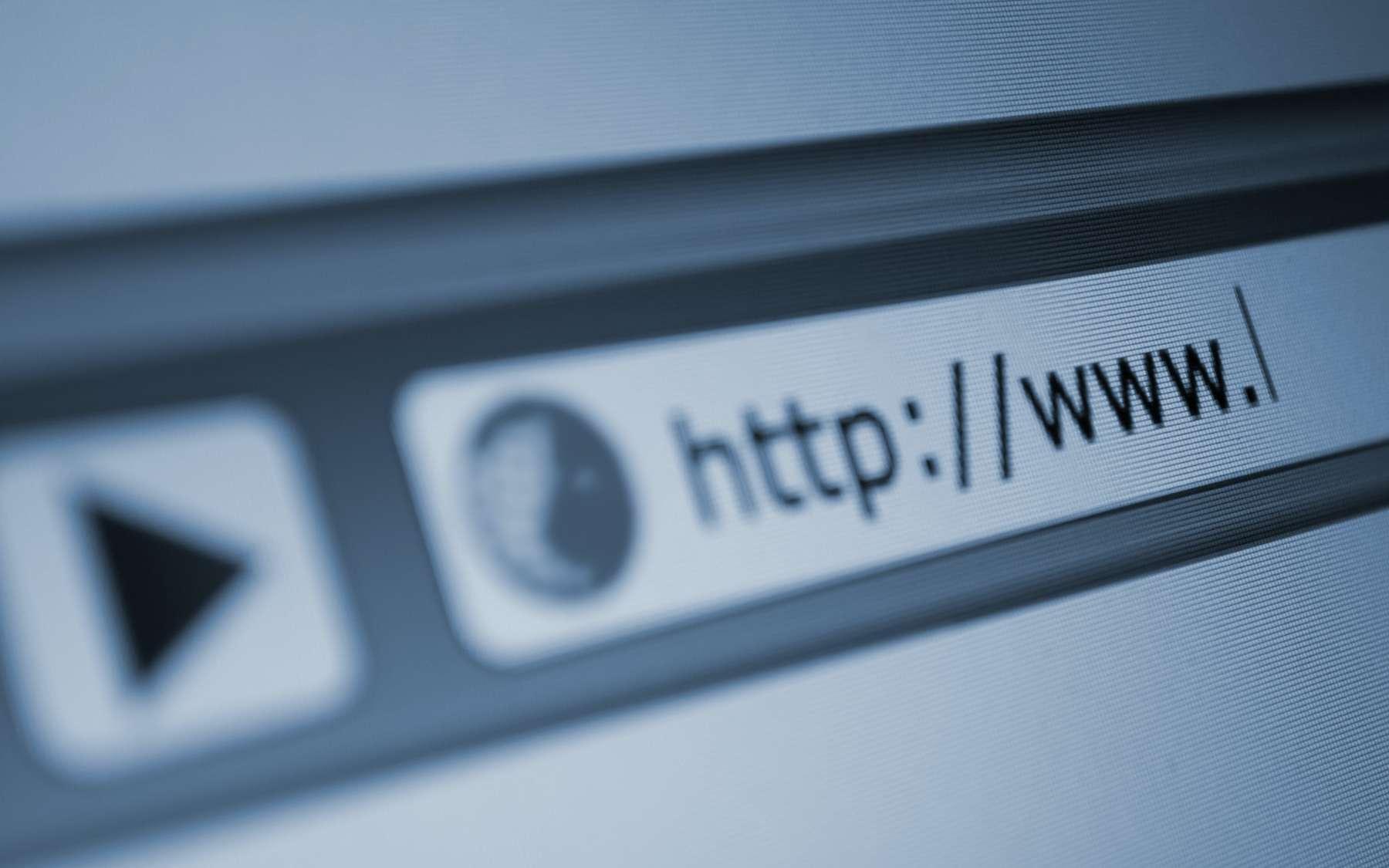 L'adresse URL sert à accéder à un site web. © jamdesign, Adobe Stock