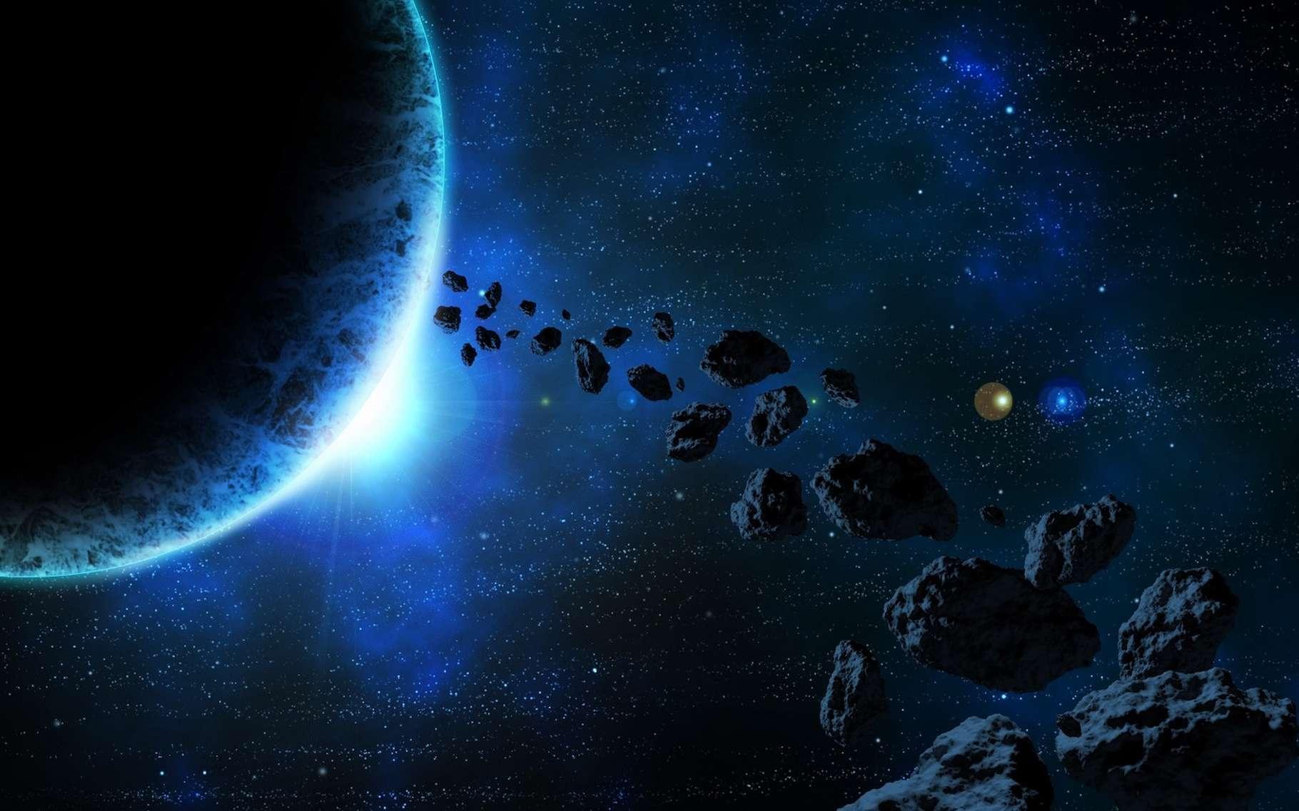 Des poussières issues de l'explosion d'un astéroïde ont modifié le climat sur Terre il y a 466 millions d'années. Le climat et la vie ! © UKT2, Pixabay License