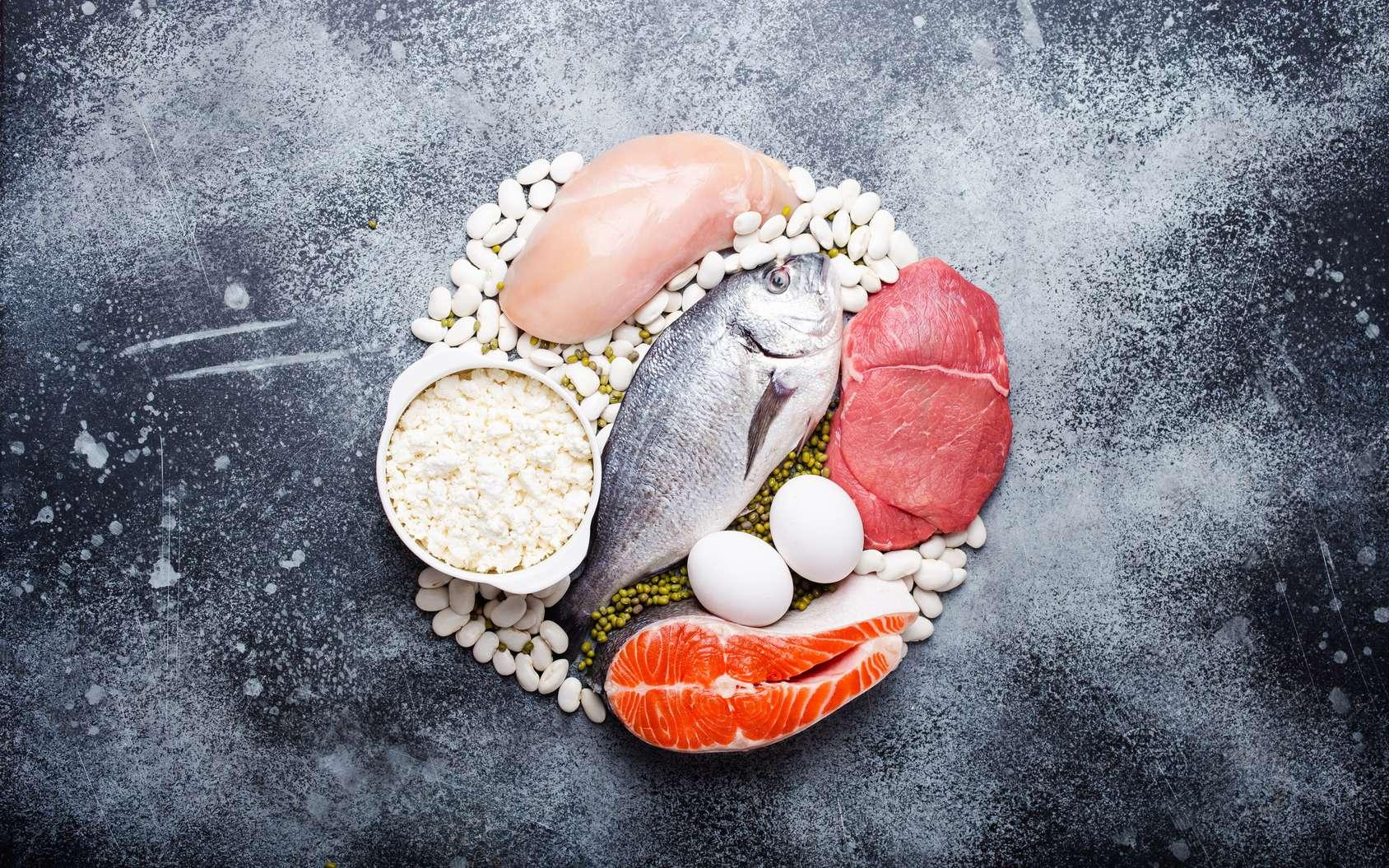 Attention aux régimes végétariens : une carence en protéines a des répercussions sur le corps. © somegirl, Fotolia