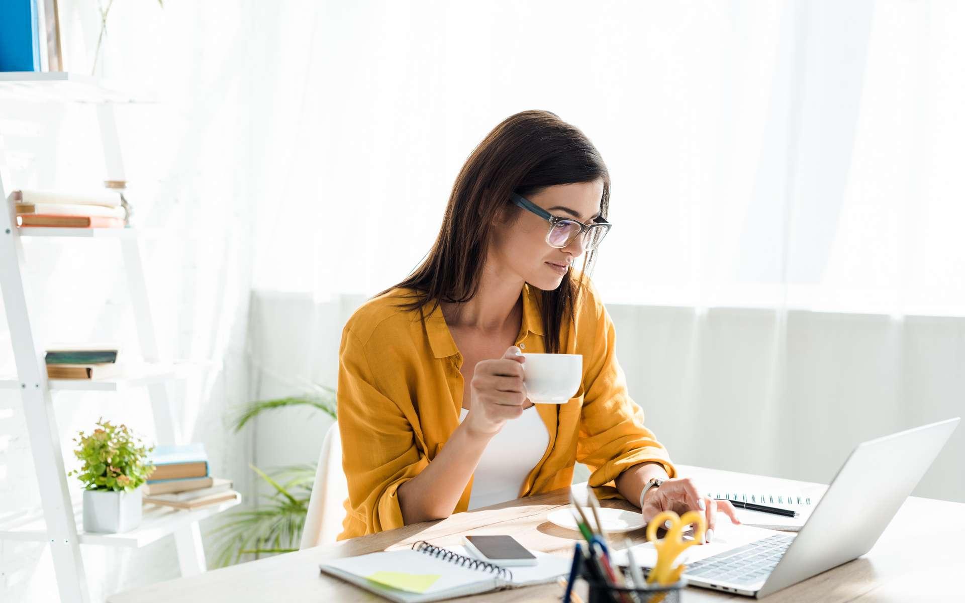 Apprécié des salariés, le télétravail leur offre plus d'autonomie et de responsabilités grâce à la confiance des employeurs. © Lightfield Studios, Adobe Stock
