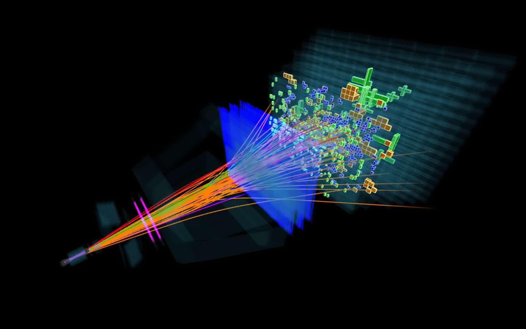 Une coupe d'ATLAS. Une coupe d'ATLAS Crédits : CERN