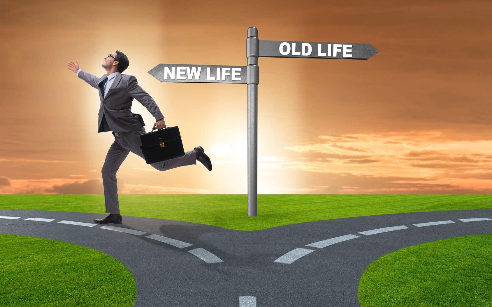 La reconversion professionnelle des cadres : le choix d'une nouvelle vie. © Elnur, Fotolia