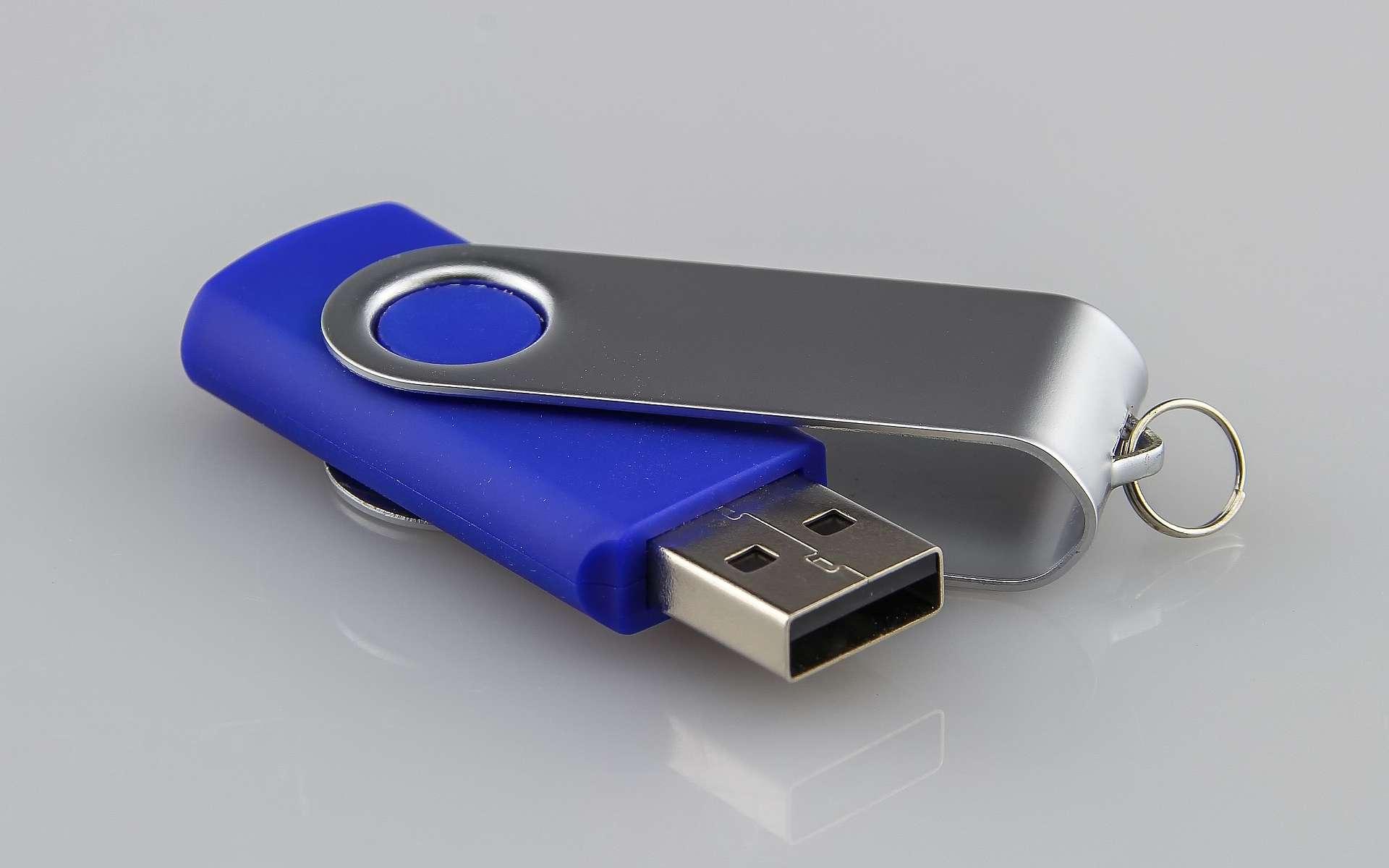 La suppression de données sur une clé USB peut n'être qu'apparente et il faut utiliser les bons logiciels pour effacer correctement les fichiers. © Analogicus, Pixabay