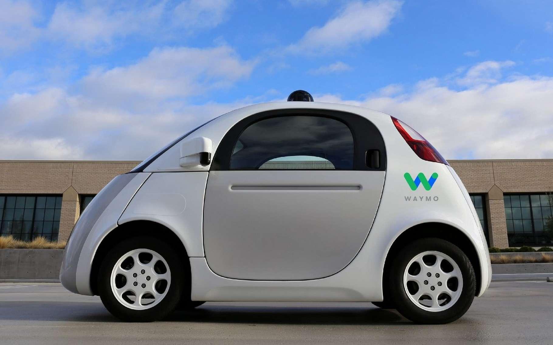 La voiture autonome développée par Google est testée depuis l'année dernière sur des portions de routes ouvertes. Elle ne possède ni volant ni pédales. © Google