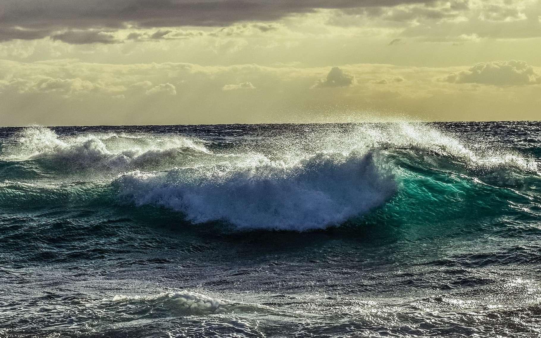 Le potentiel énergétique naturel des énergies marines apparaît gigantesque. © dimitrisvetsikas, Pixabay, Pixabay License