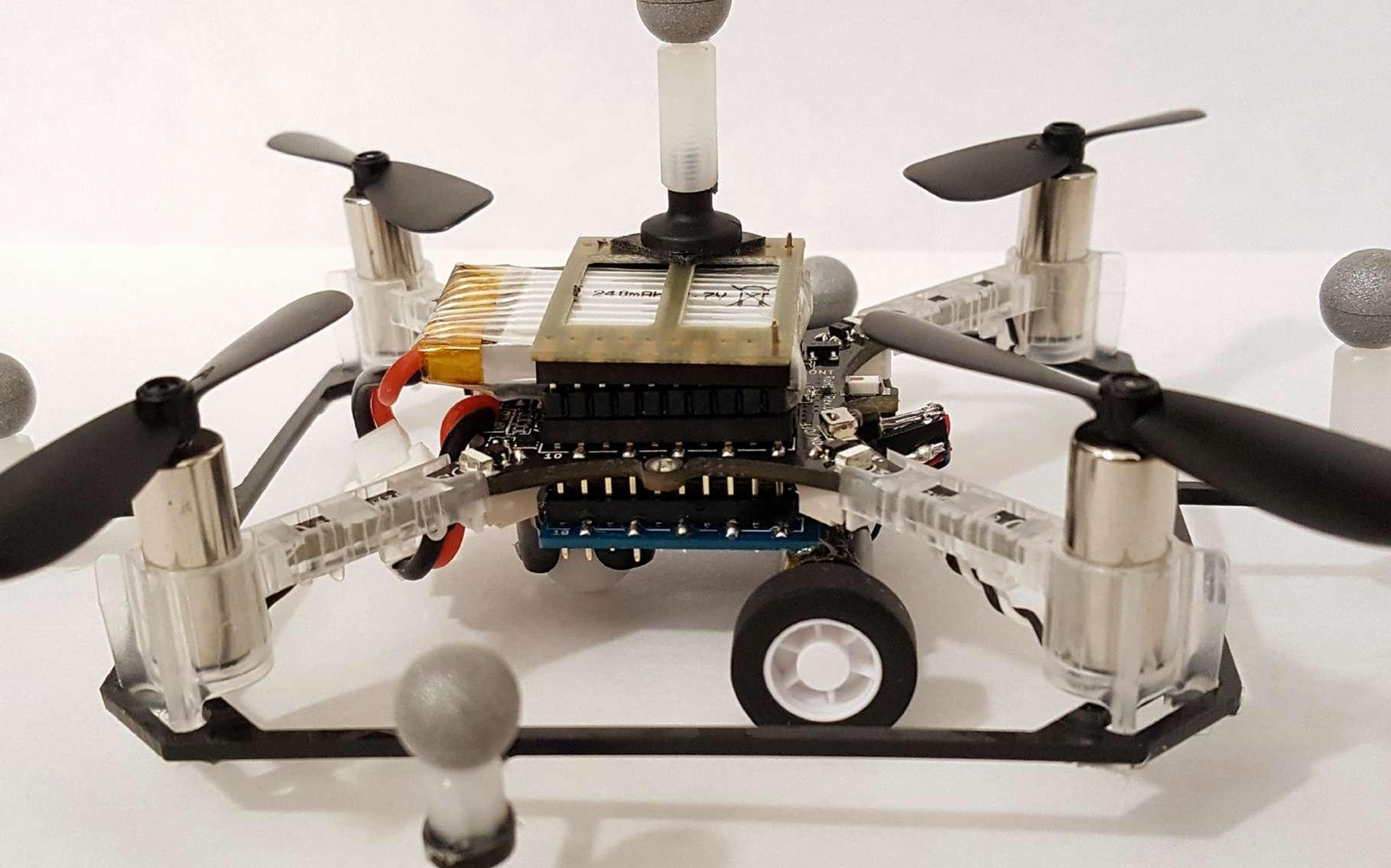 Le drone hybride conçu par le MIT. © MIT CSAIL
