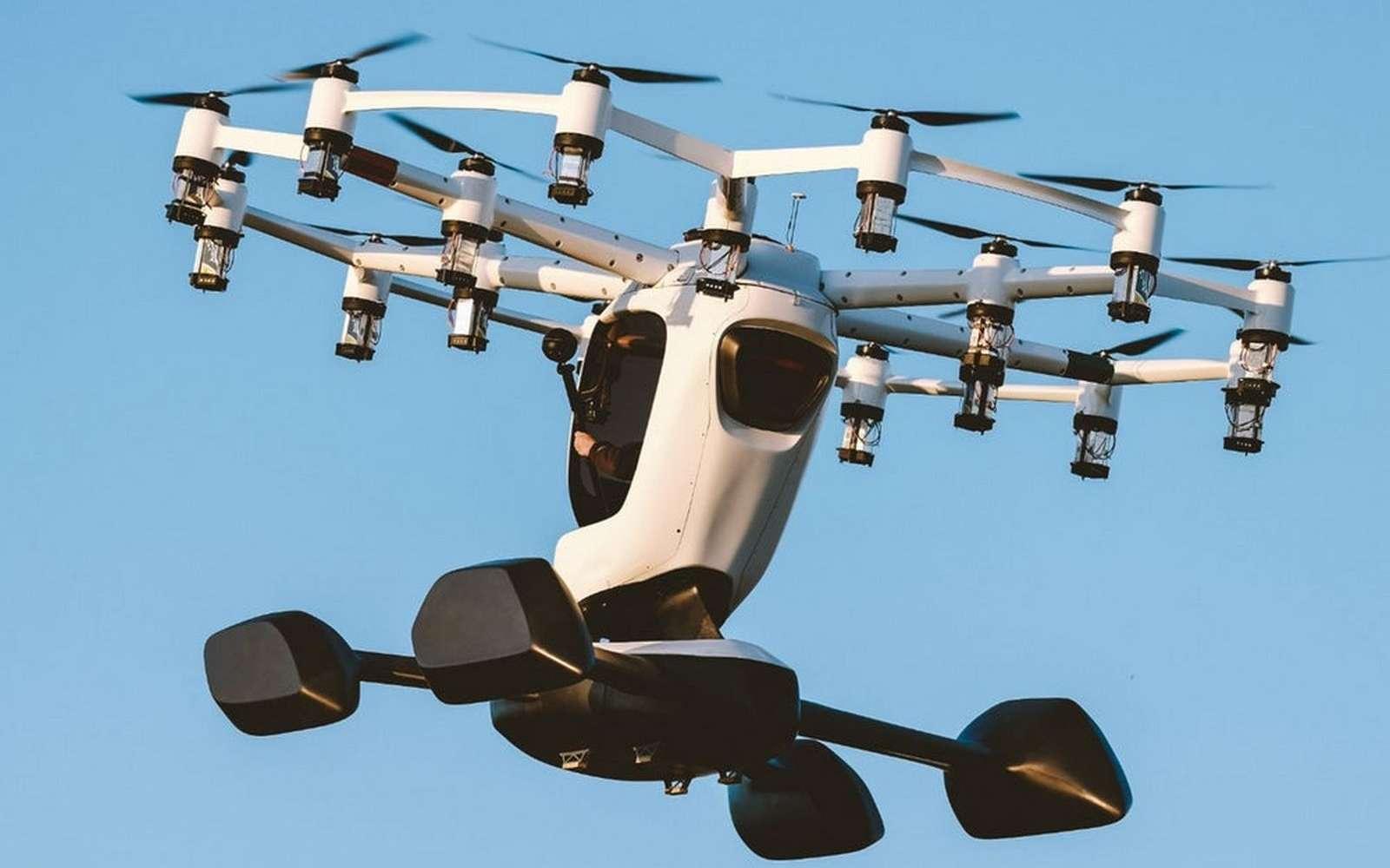 L'aéronef Hexa de Lift Aircraft. © Lift Aircraft