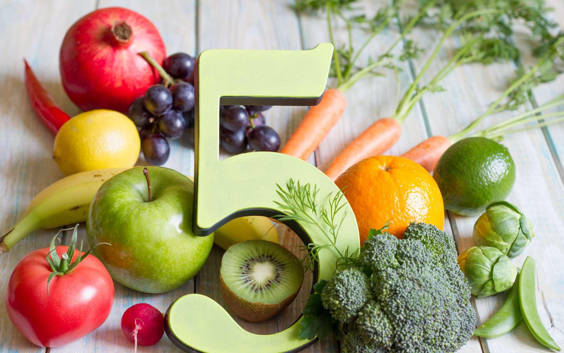Manger cinq fruits et légumes par jour : l'effet boomerang des messages sanitaires. © udra11, Adobe Stock