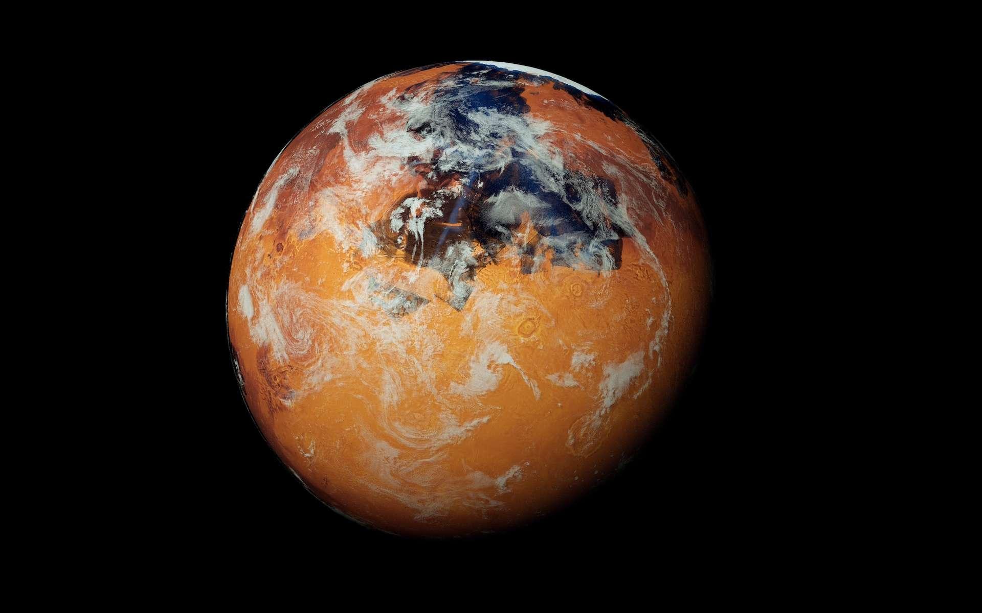 Des chercheurs suggèrent que l'apparition de l'eau sur une planète pourrait être liée à son processus de formation. © Sasa Kadrijevic, Adobe Stock
