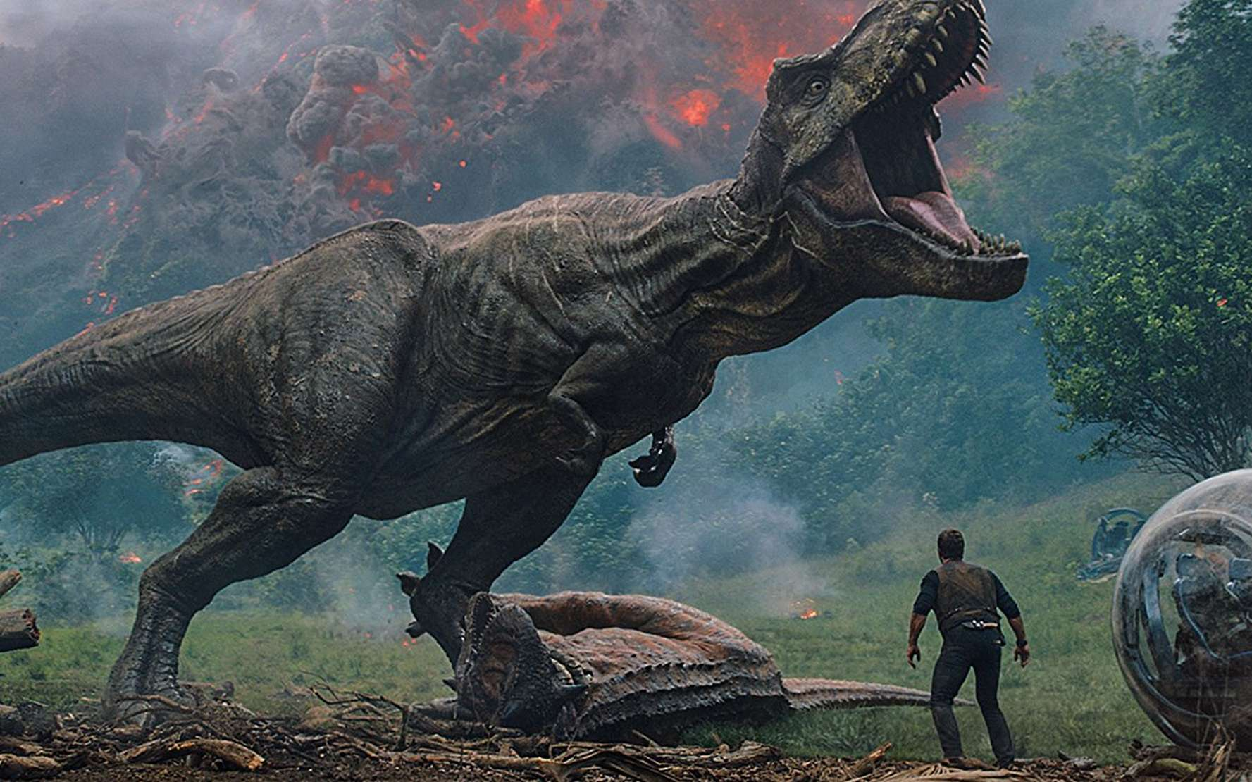 Les dinosaures terrorisent à nouveau les salles de cinéma dans Jurassic World: Fallen Kingdom. Si on ramenait les dinosaures à la vie, aura-t-on vraiment droit à un scénario catastrophe hollywoodien ? © Universal Pictures International France