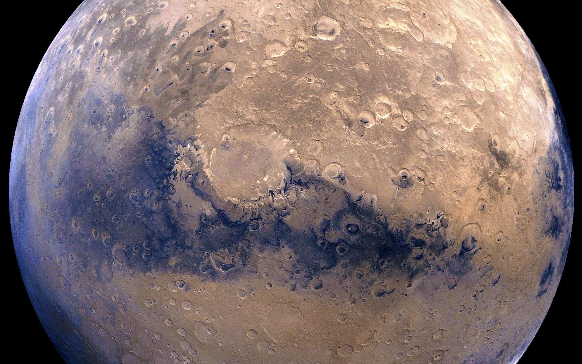 Une vue de la surface de Mars. SpaceX se propose de la coloniser. © Nasa