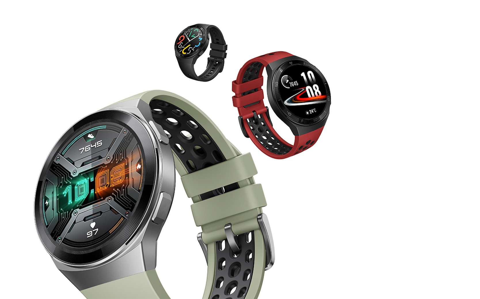 Difficile de prendre en défaut la Watch GT2e, véritable bonne surprise de cet été. © Huawei