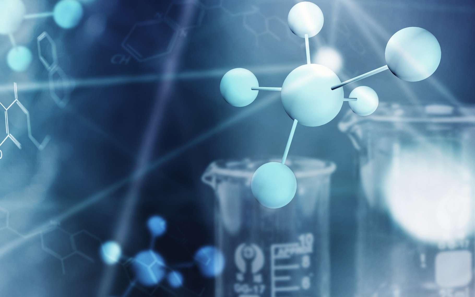 Des chercheurs ont réussi à créer un réseau dynamique de réactions chimiques, proche de ce que l'on peut retrouver aujourd'hui dans la biochimie du vivant. © m.mphoto, Fotolia