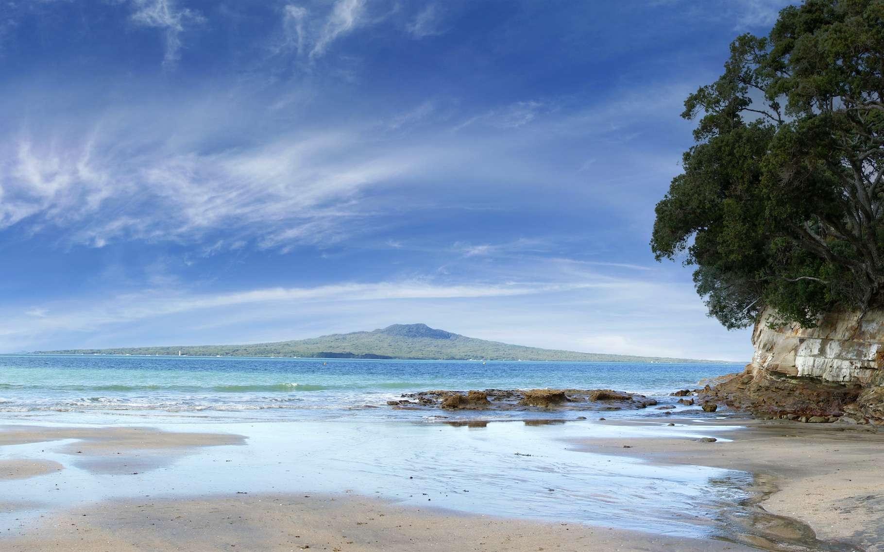 La Nouvelle-Zélande et la Nouvelle-Calédonie sont les seules terres de surface du continent Zealandia. © Stillfx, Adobe Stock