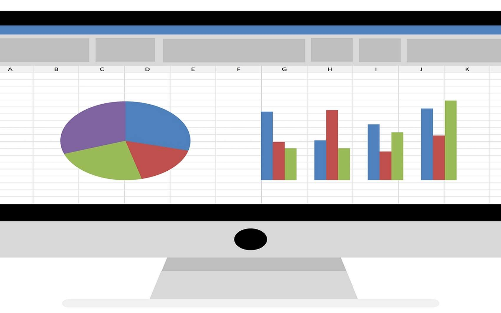 Futura vous dévoile la procédure à suivre afin de représenter des données d'un fichier Excel sous forme de camembert. © Tumisu de Pixabay
